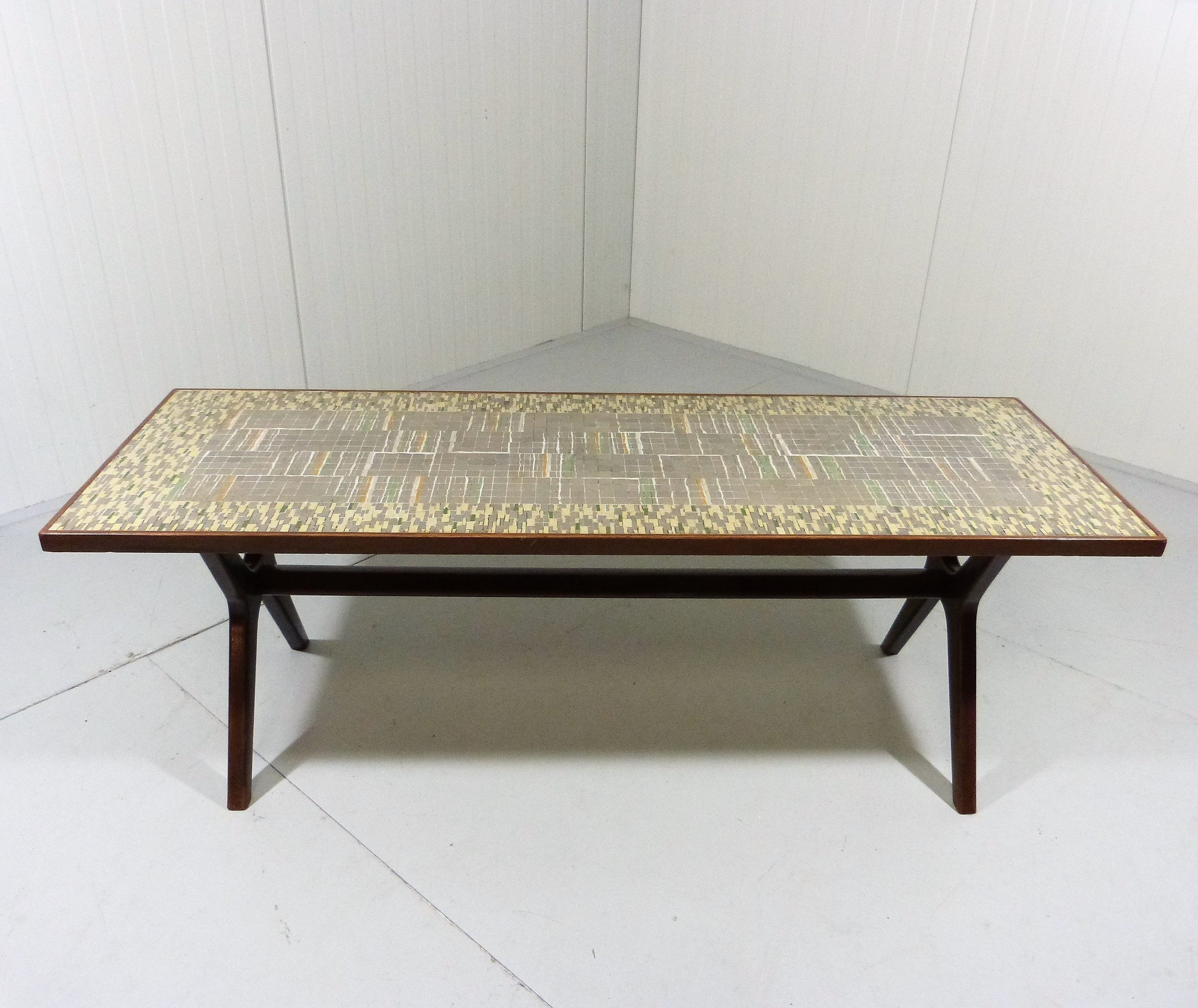 - Mosaic Coffee Table By Berthold Müller Oerlinghausen, 1950s #58480