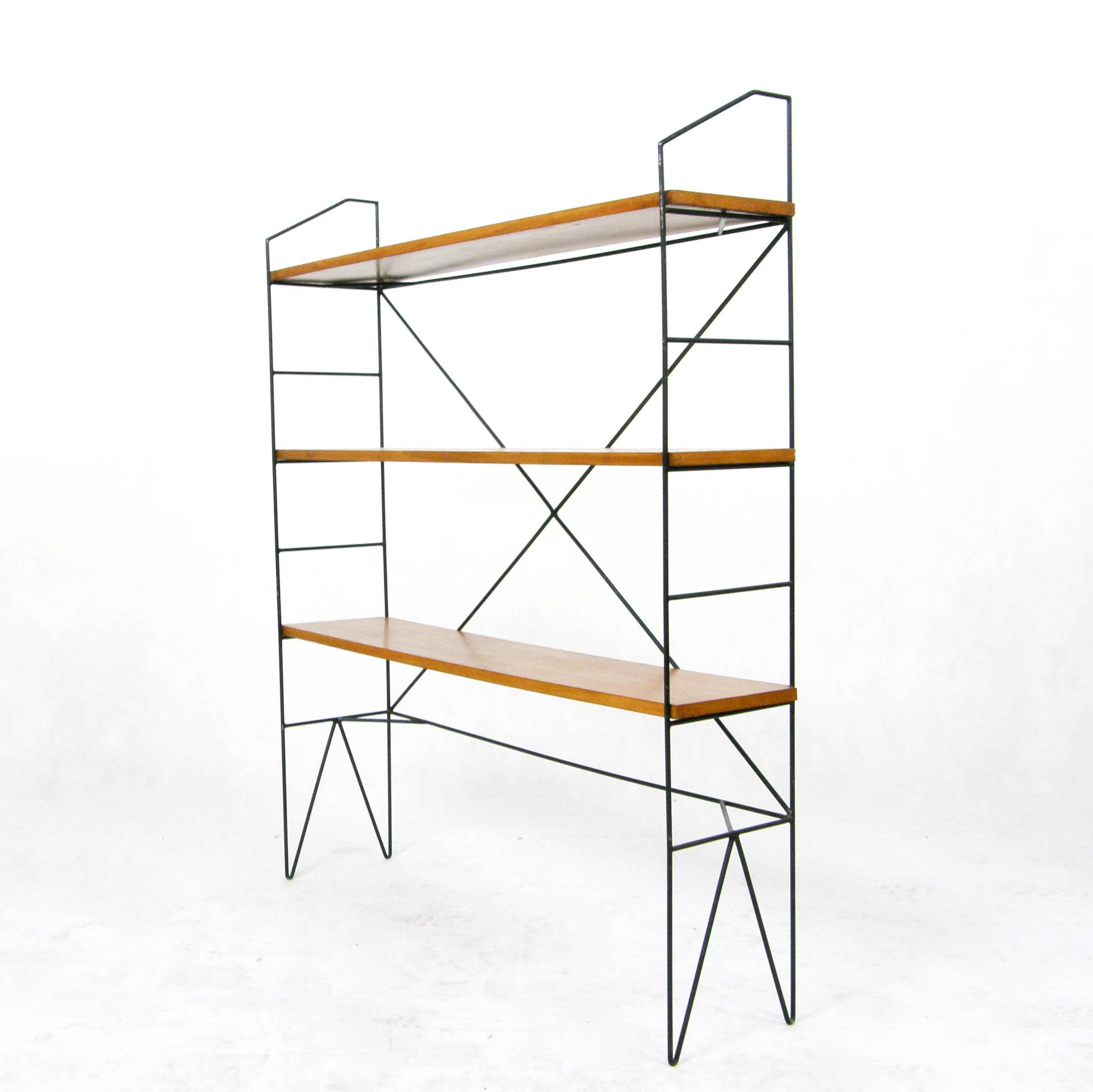etagere cabinet 1950s 58768. Black Bedroom Furniture Sets. Home Design Ideas