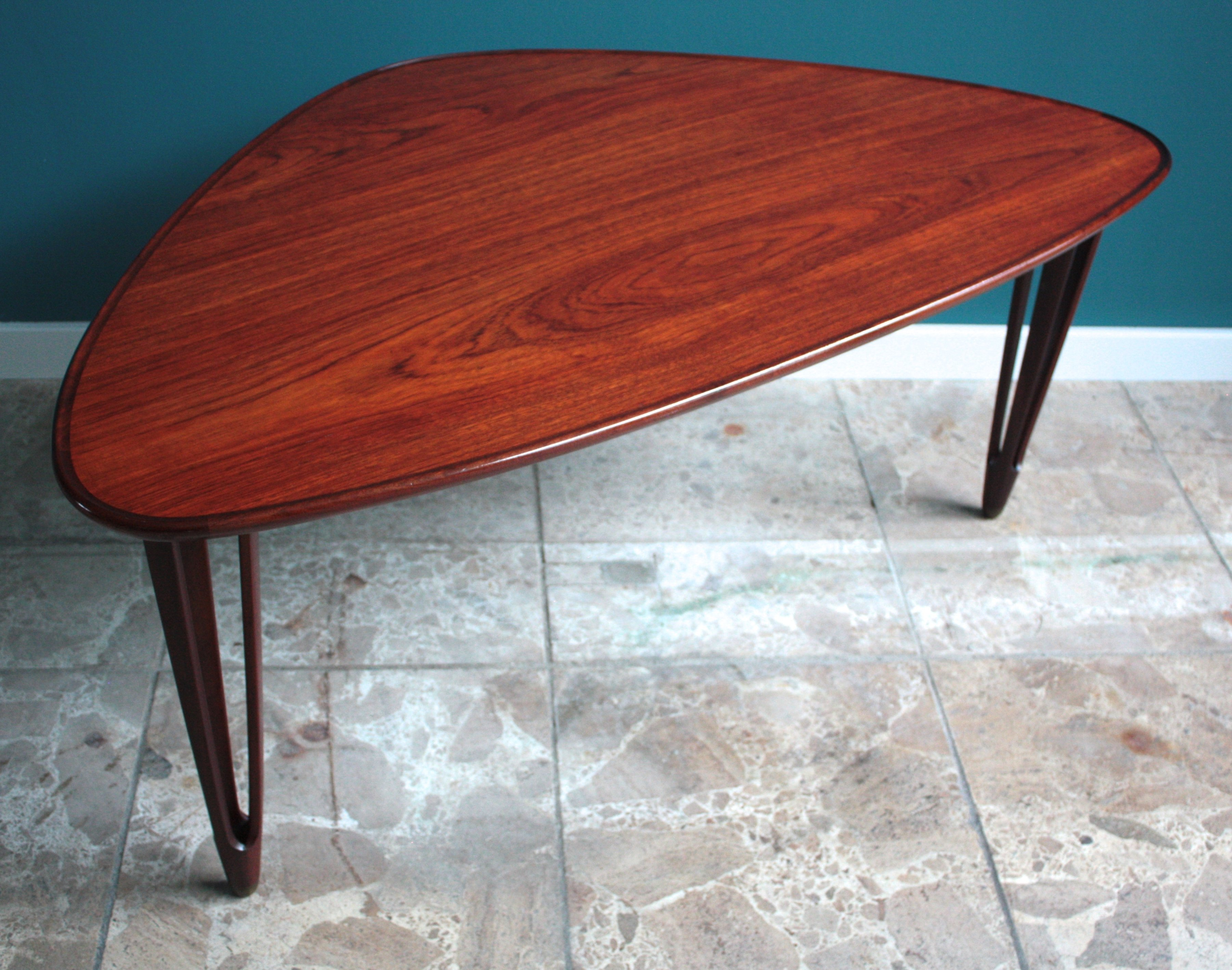 B c m bler coffee table 1950s 51411 for Coffee tables b m