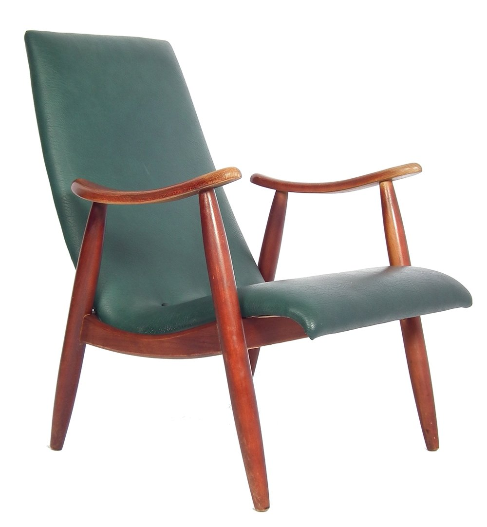 Lounge Chair From The Fifties By Louis Van Teeffelen For Unknown Producer 60555