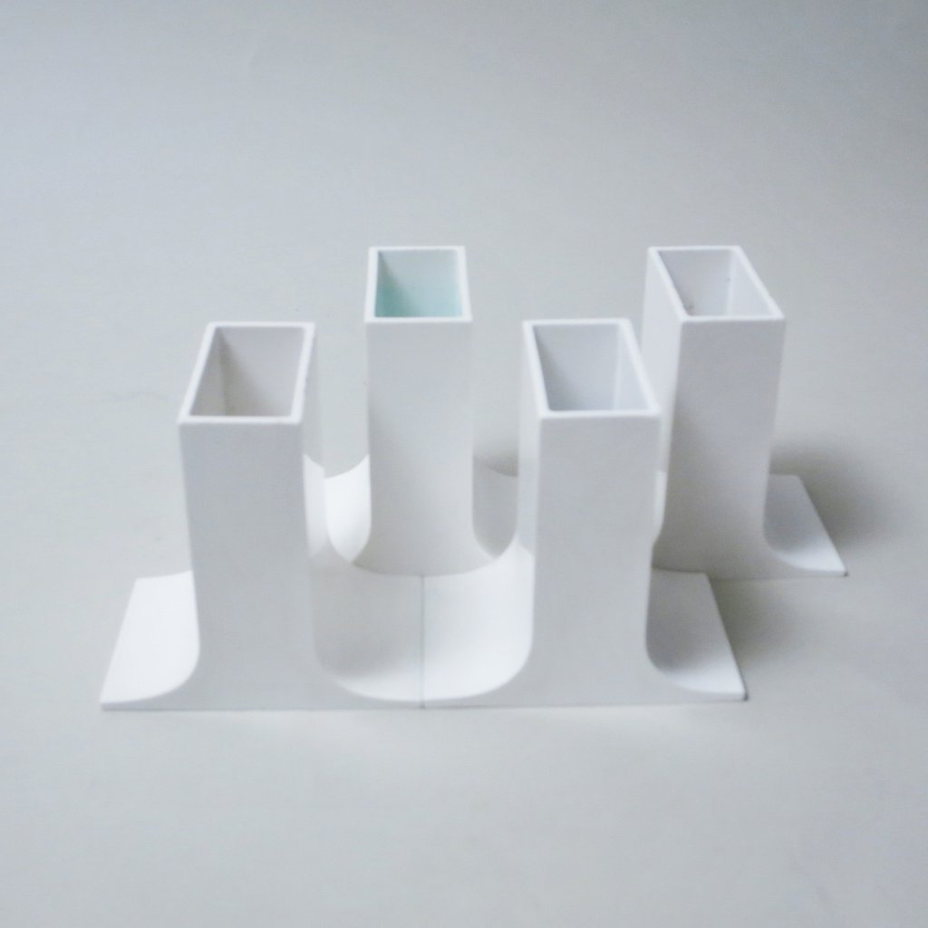 lampedusa penholders set from the sixties by enzo mari for danese 60728. Black Bedroom Furniture Sets. Home Design Ideas