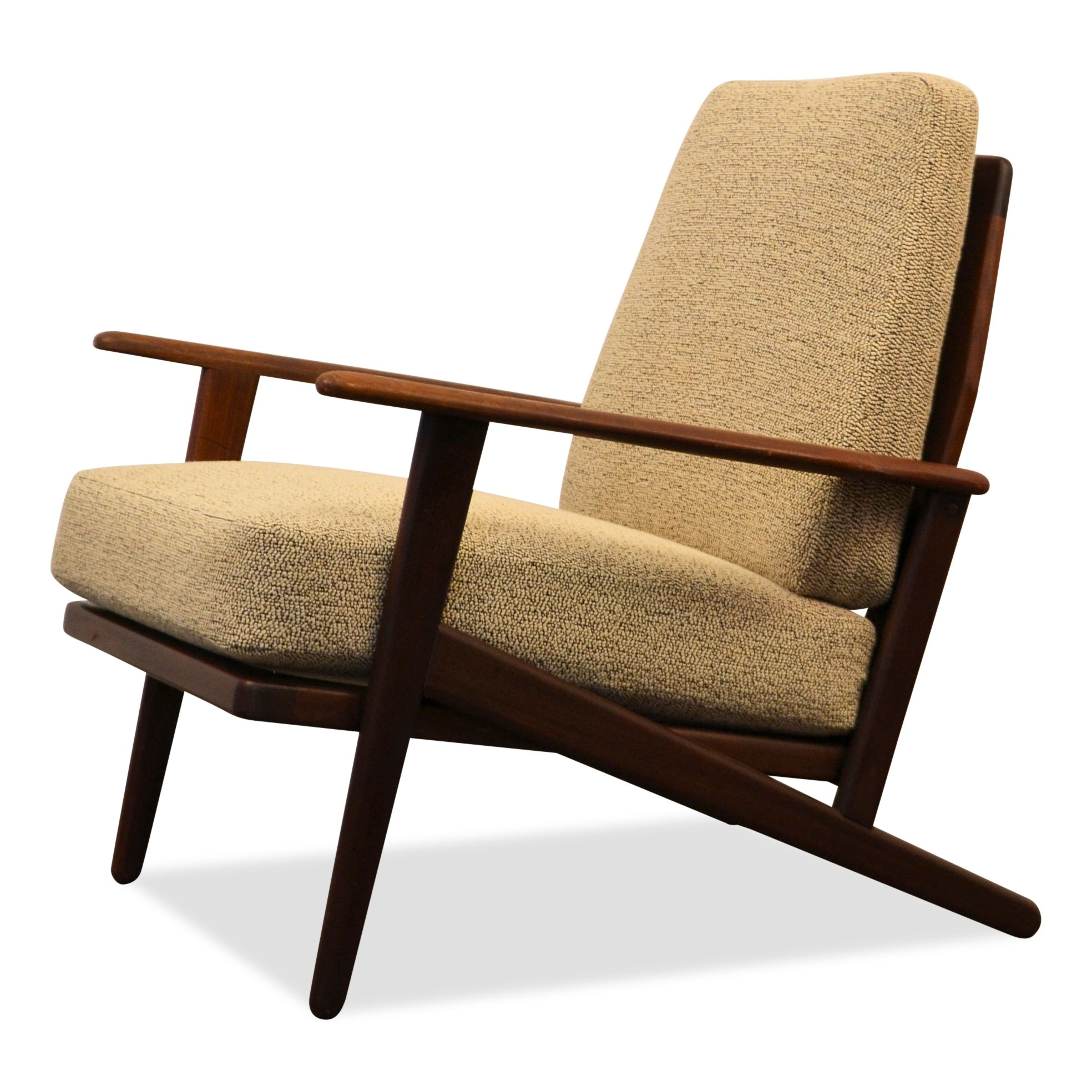 Danish teak lounge chair from the sixties