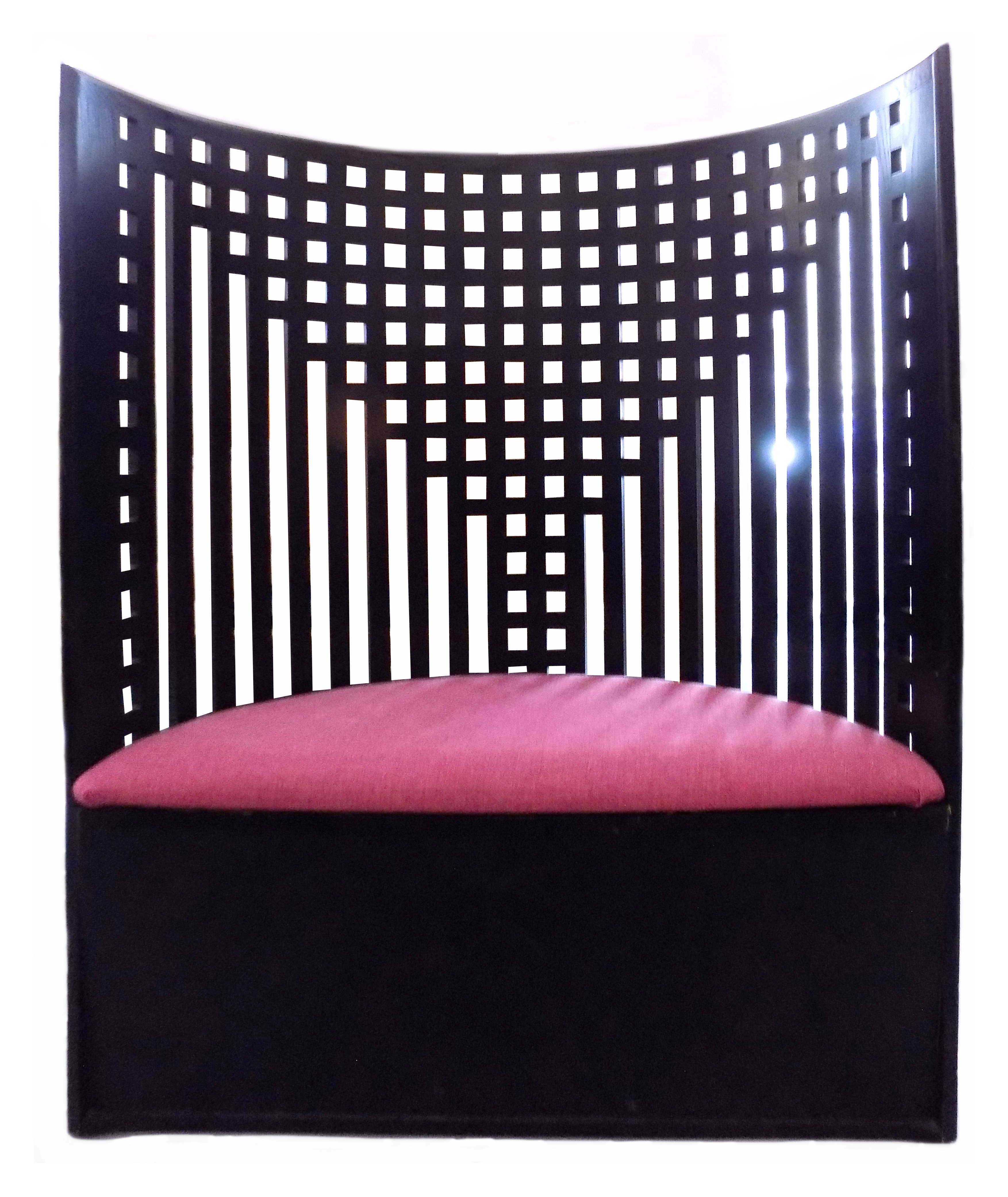 willow chair by charles renee mackintosh 61618. Black Bedroom Furniture Sets. Home Design Ideas
