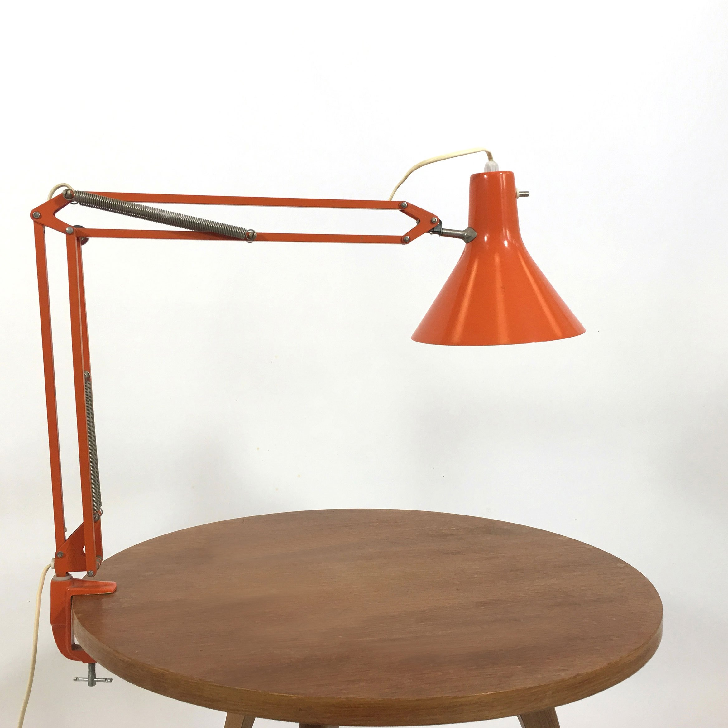 L4 Desk Lamp By Jacob Jacobsen For Luxo 1950s