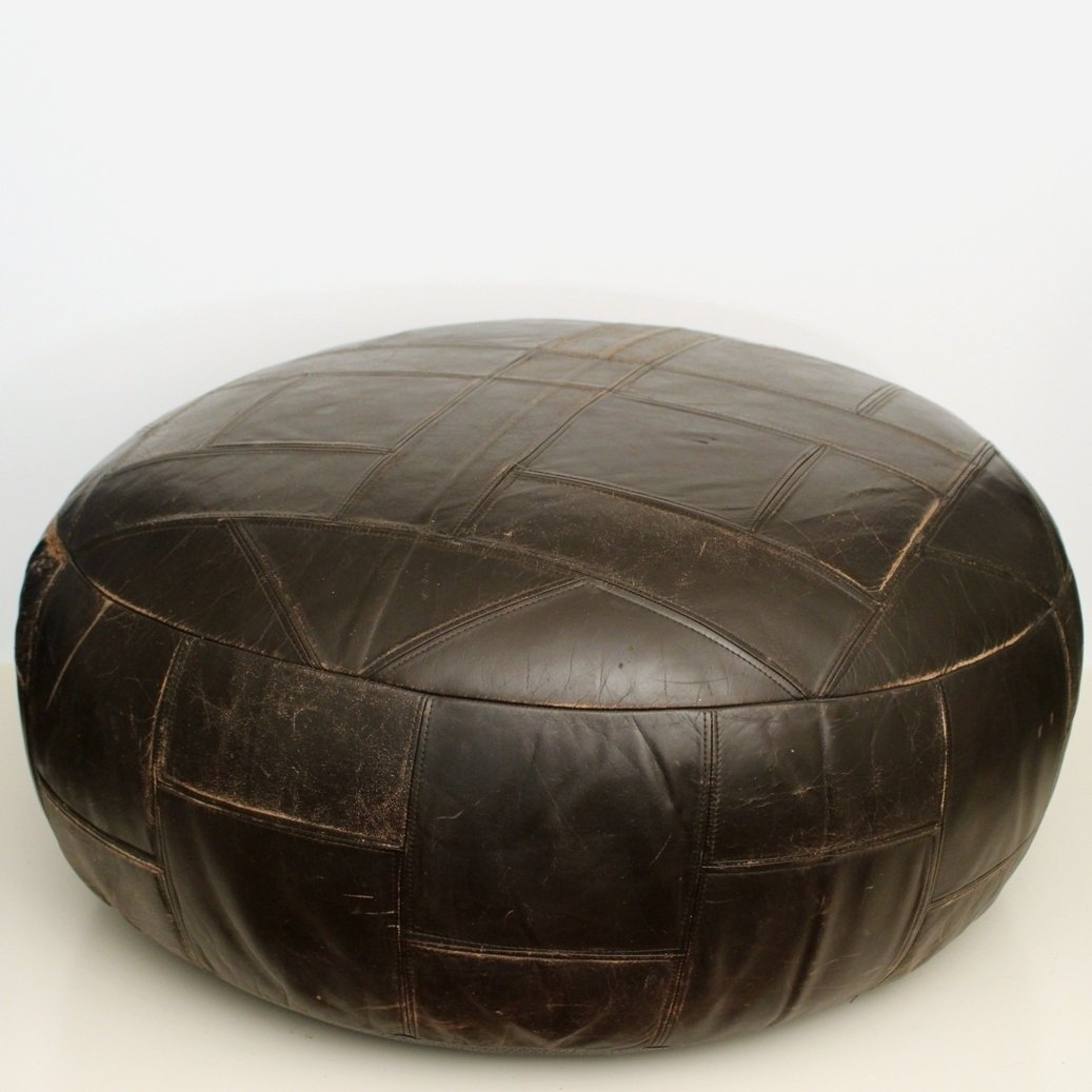 pouf xxl stool from the sixties by unknown designer for. Black Bedroom Furniture Sets. Home Design Ideas