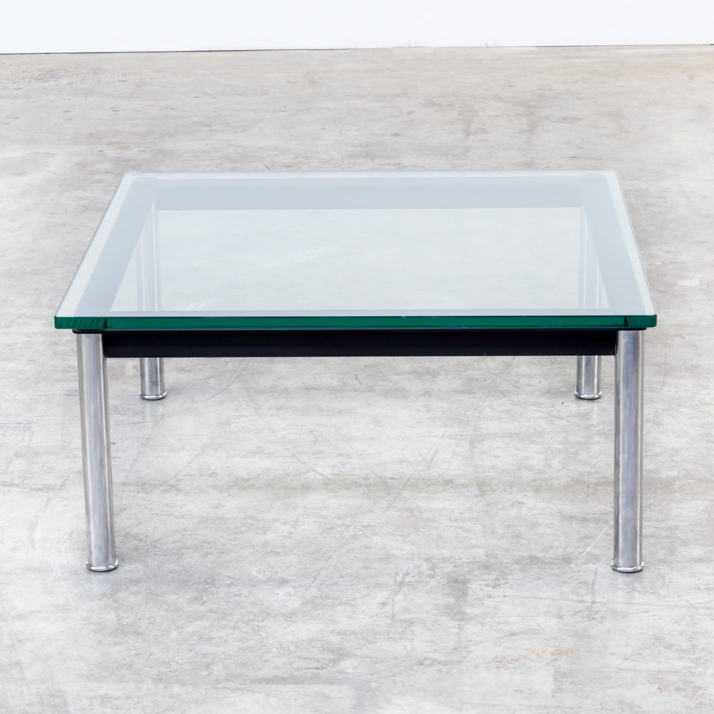 Lc10p Coffee Table From The Eighties By Le Corbusier Charlotte Perriand For Cassina 62683