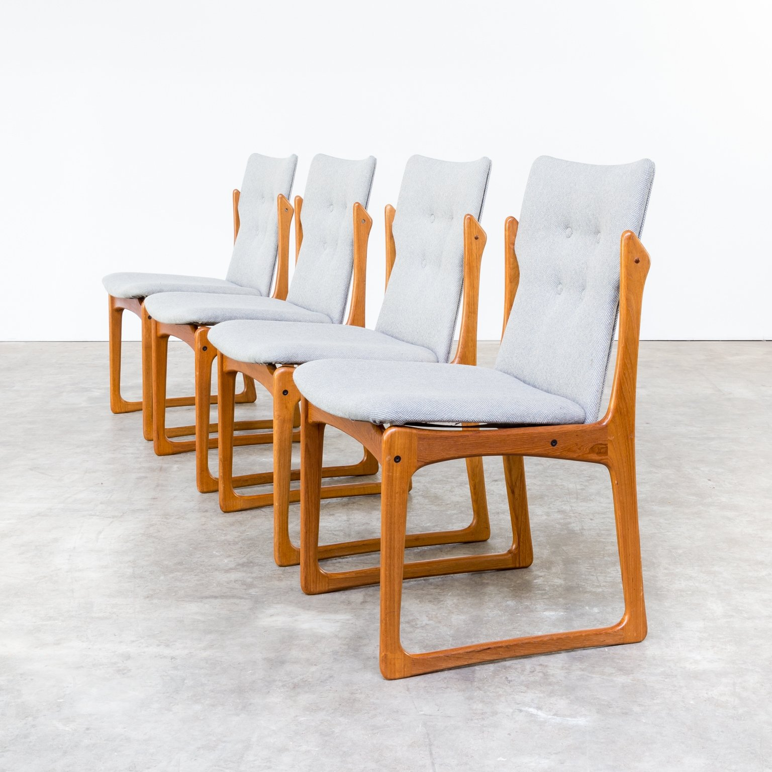Stupendous Set Of 4 Vamdrup Stolefabrik Dining Chairs 1960S 62991 Beatyapartments Chair Design Images Beatyapartmentscom