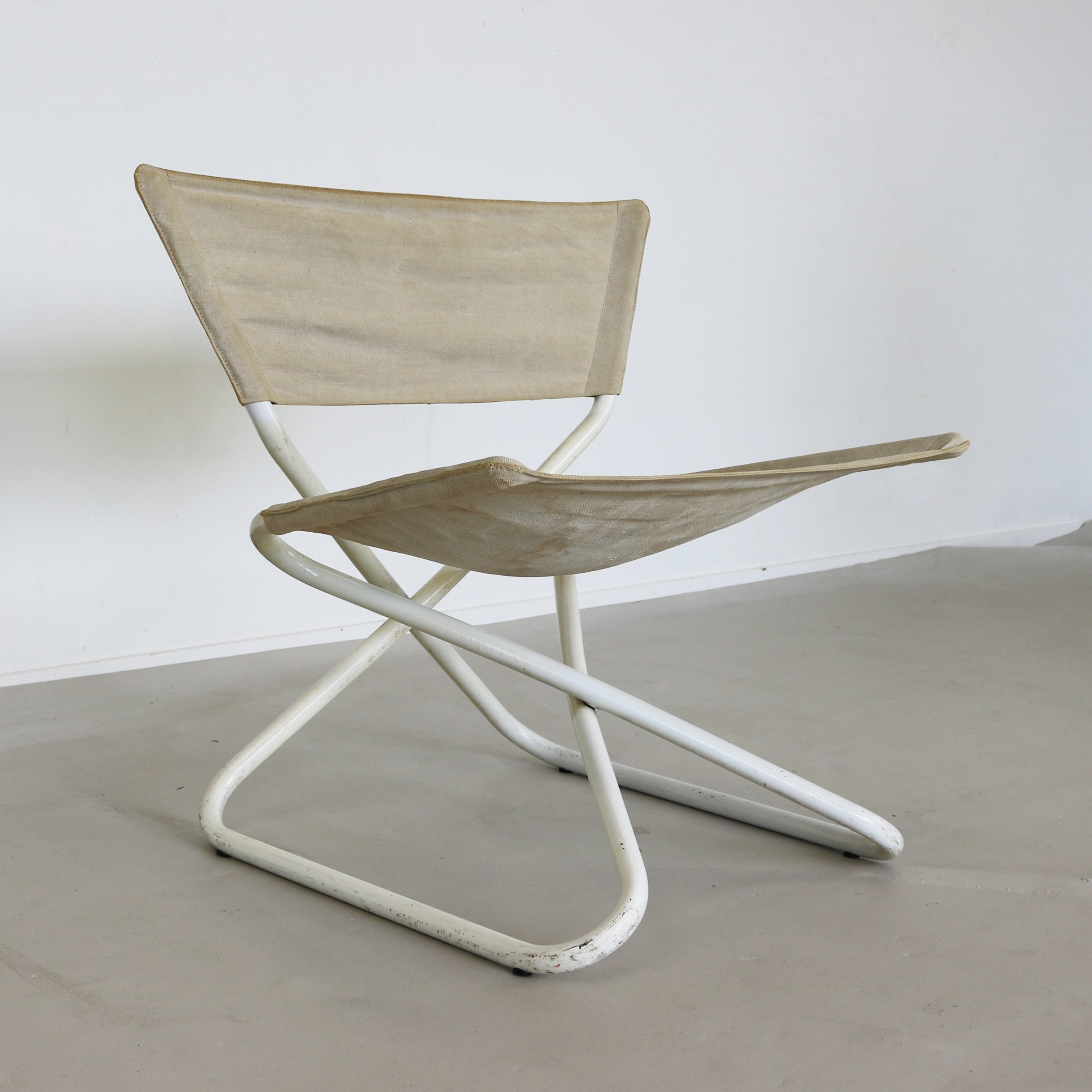 Z Down Folding lounge chair by Erik Magnussen 1960s