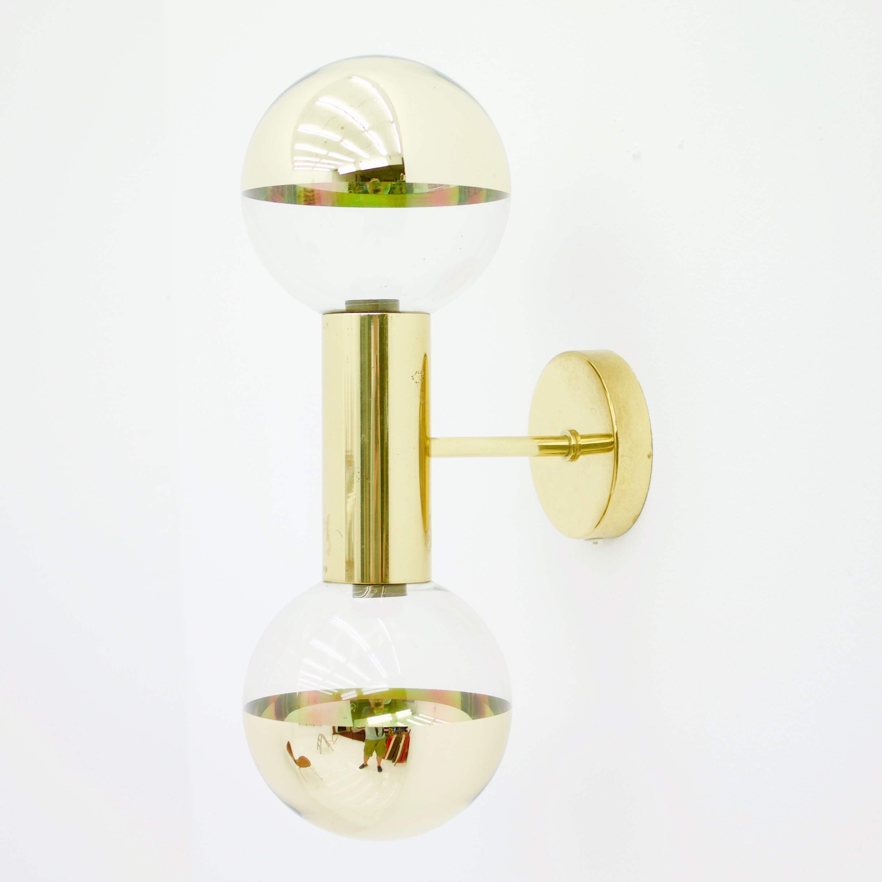 Wall Lamp from the sixties by Motoko Ishii for Staff #64958