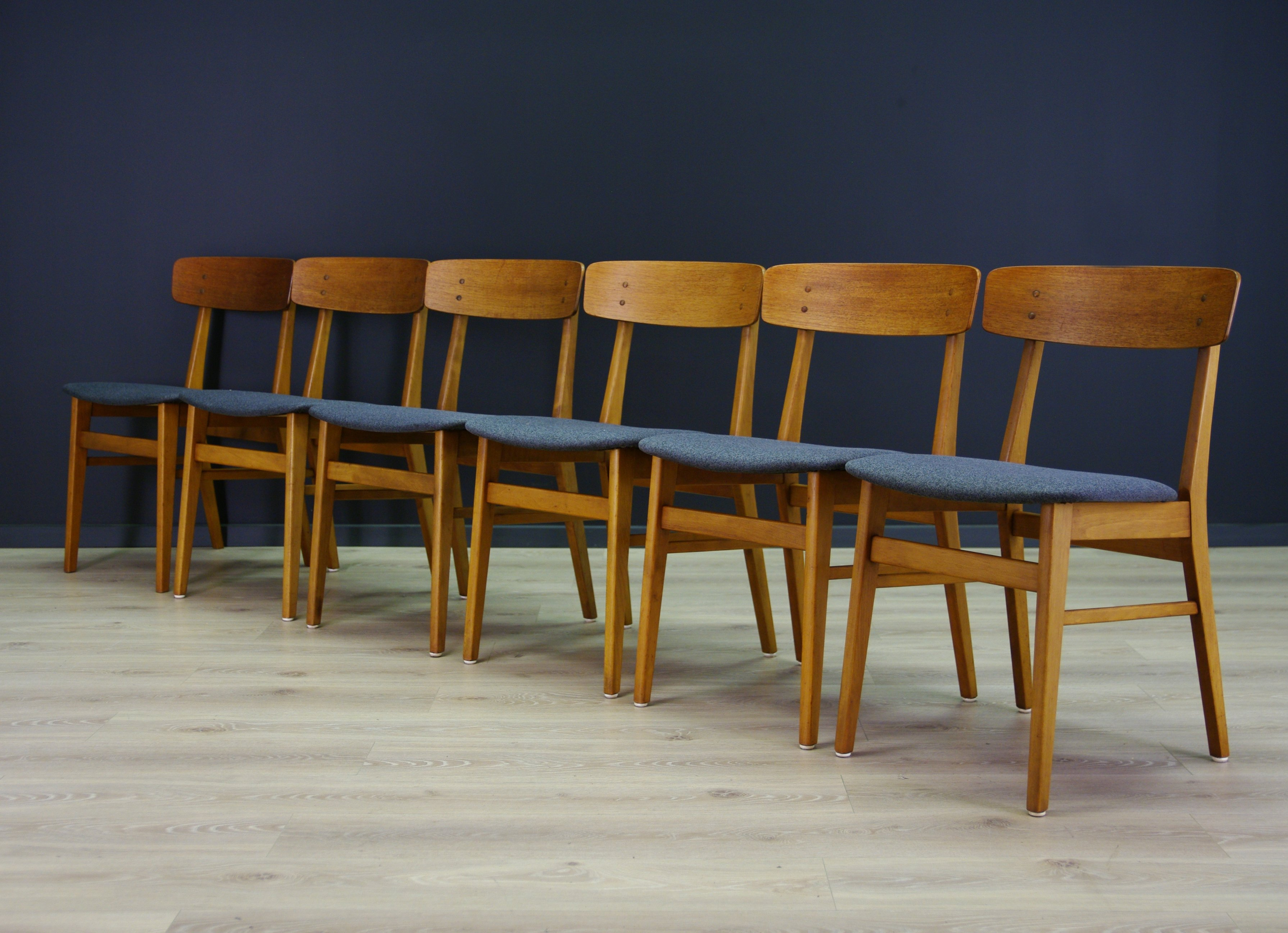 Superb Set Of 6 Farstrup Mobler Dining Chairs 1970S Squirreltailoven Fun Painted Chair Ideas Images Squirreltailovenorg