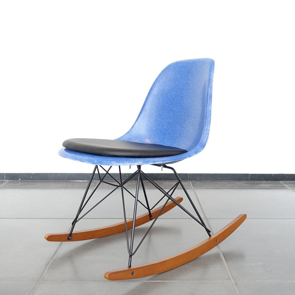 Eames dsw side rocking chair for herman miller 1960s 65289 for Rocking chair dsw