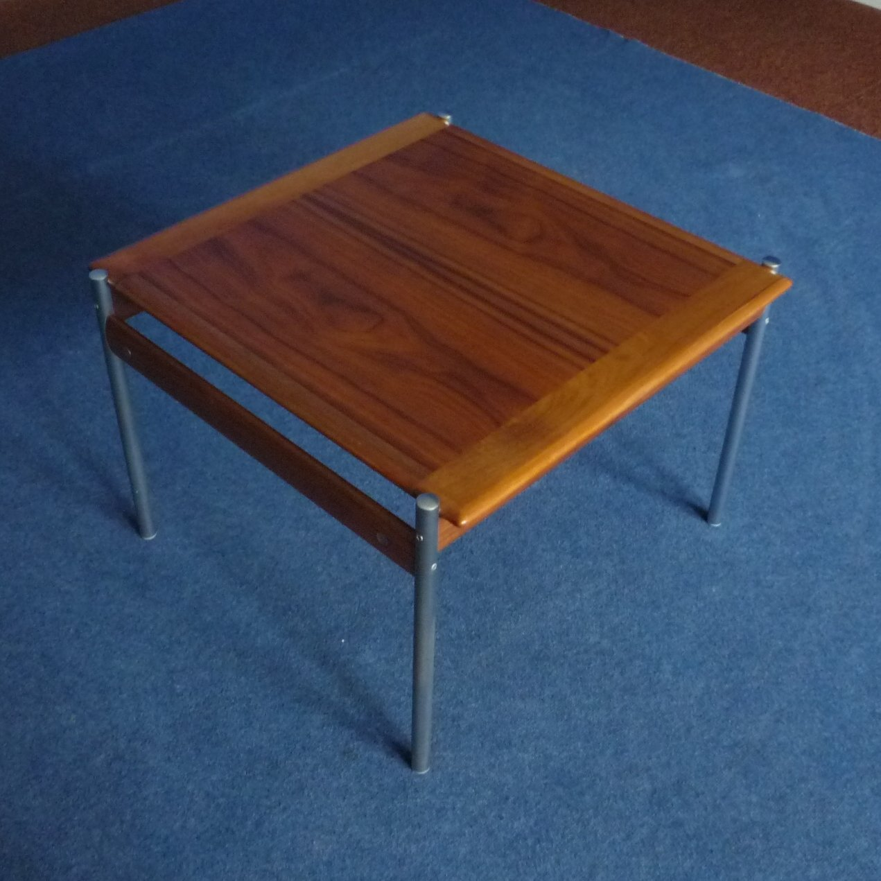 Massive Coffee Table By Sven Ivar Dysthe For Dokka Møbler Norway 1960s