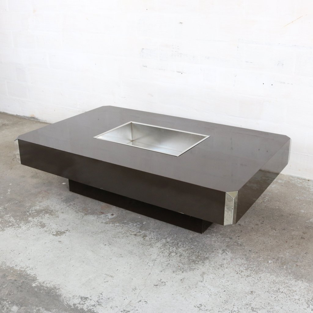 Willy Rizzo Coffee Table.Coffee Table By Willy Rizzo For Mario Sabot 1960s 65610