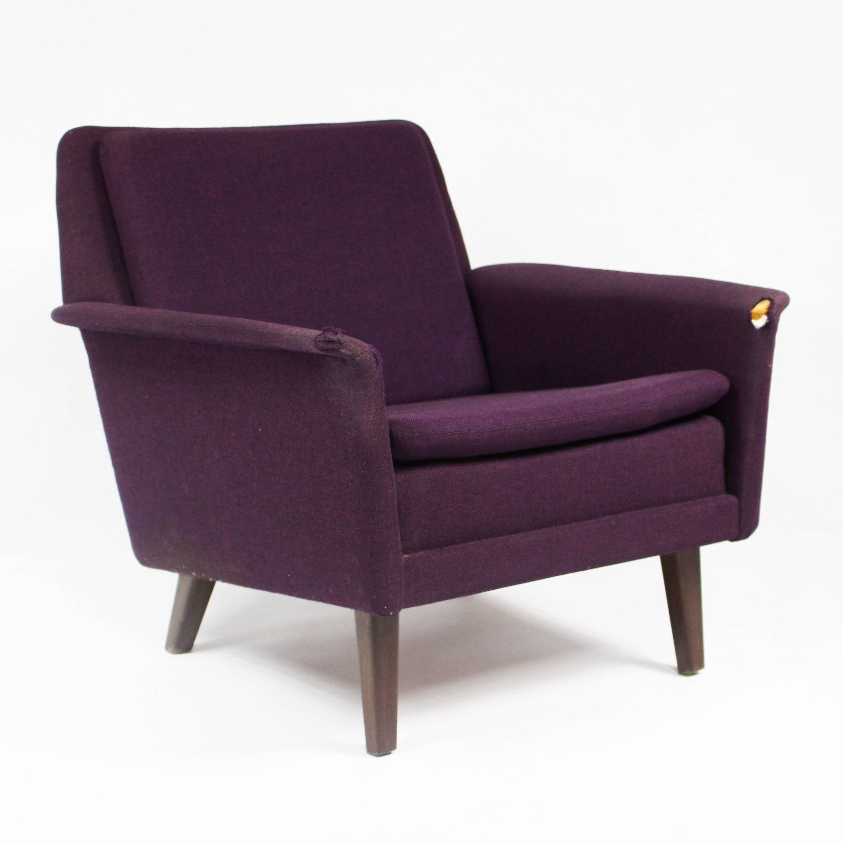 mid century danish lounge chair by folke ohlsson for fritz