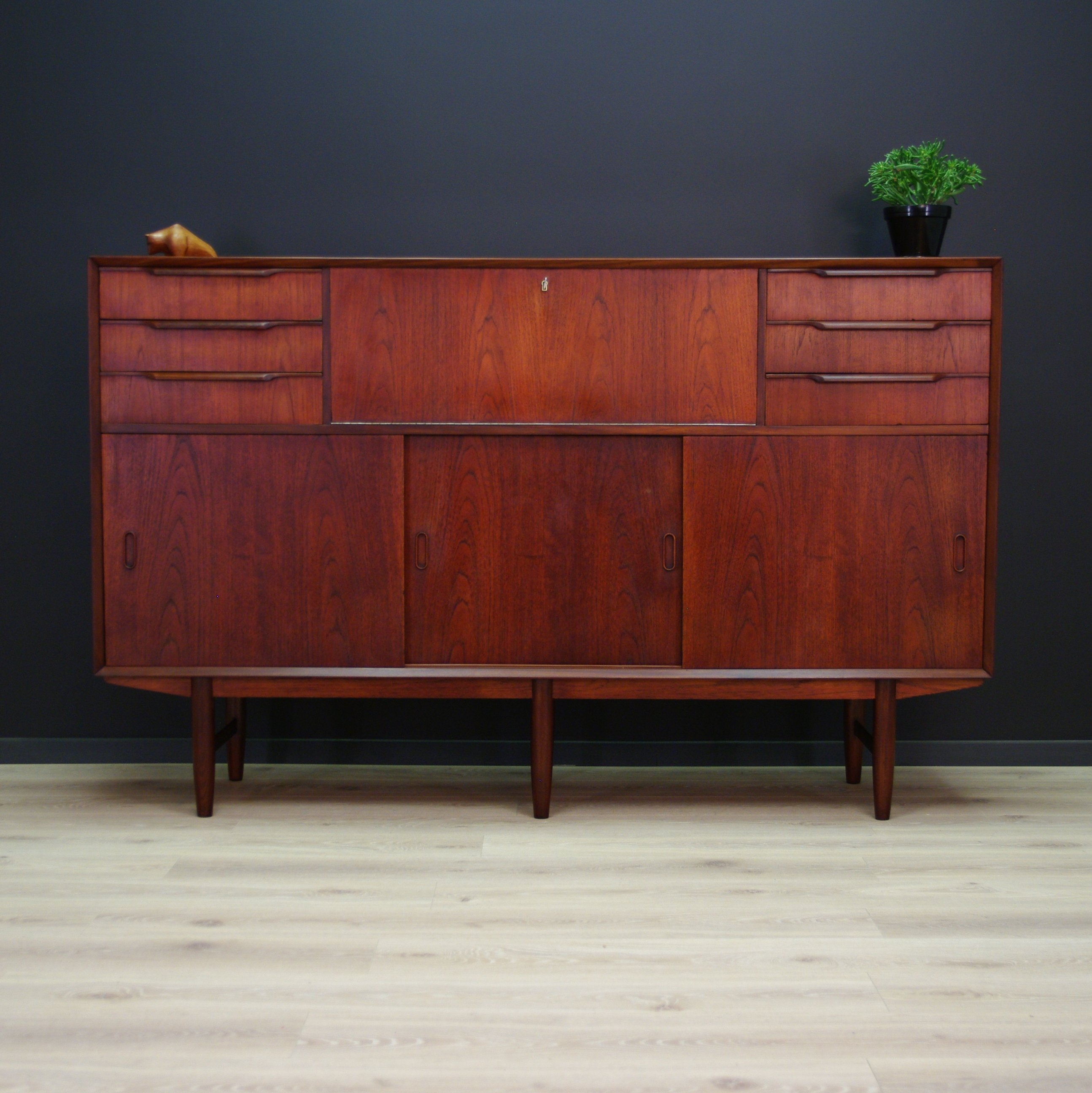 high sideboard 1960s 65909. Black Bedroom Furniture Sets. Home Design Ideas