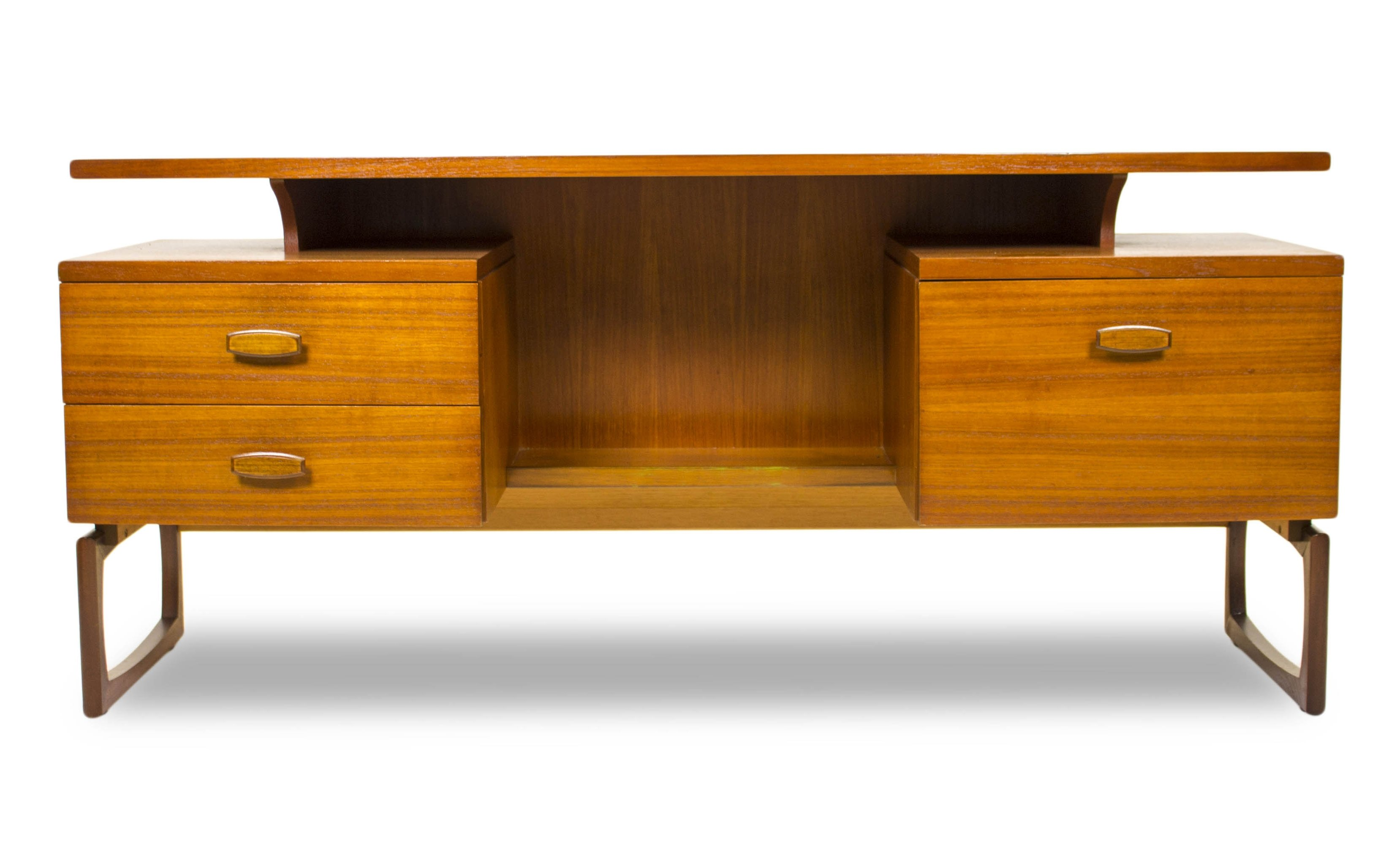 Quadrille Writing Desk By R Bennet For G Plan 1960s