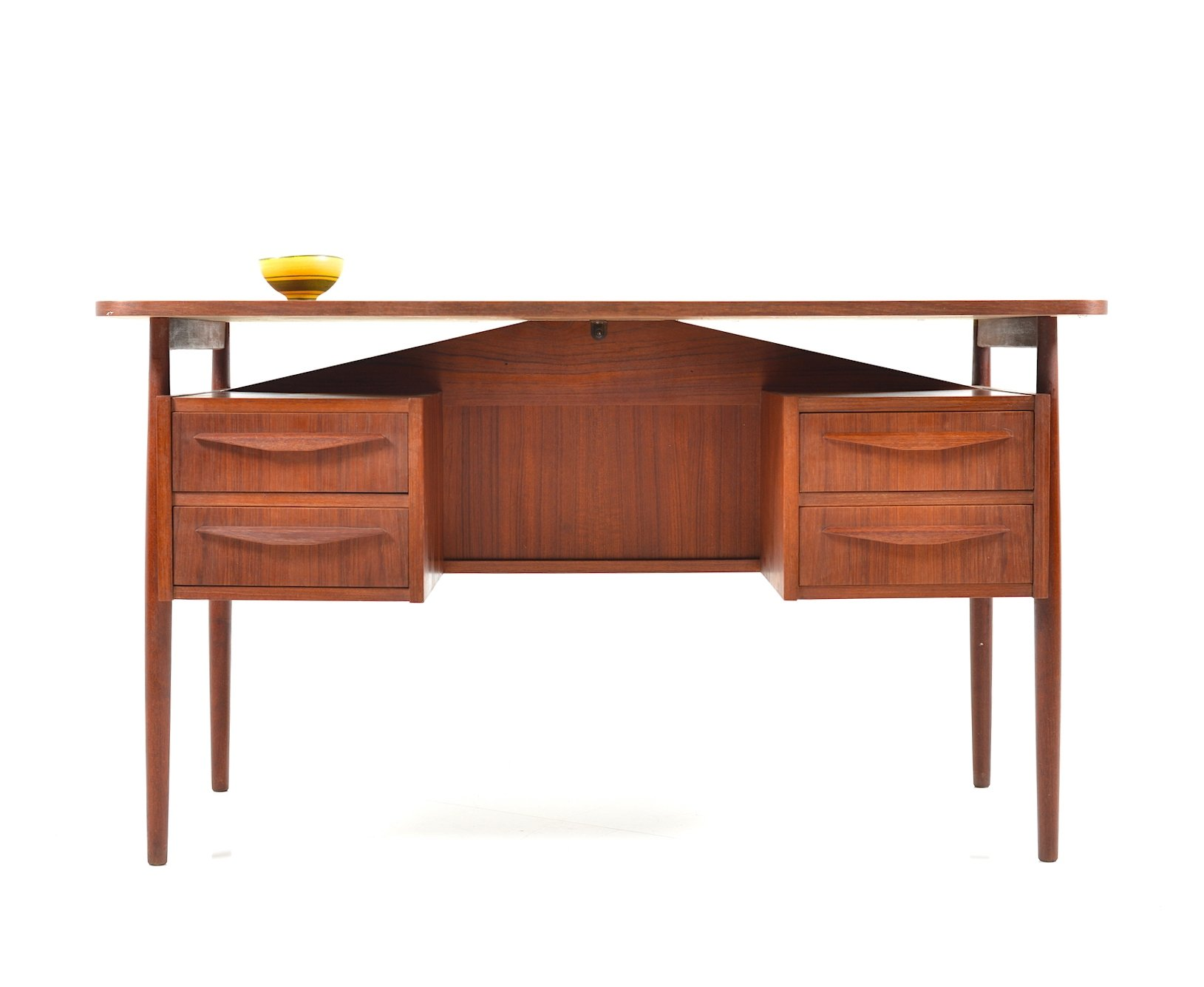 with a in desk solid wood pin modern this is featured finish danish teak vibrant gorgeous