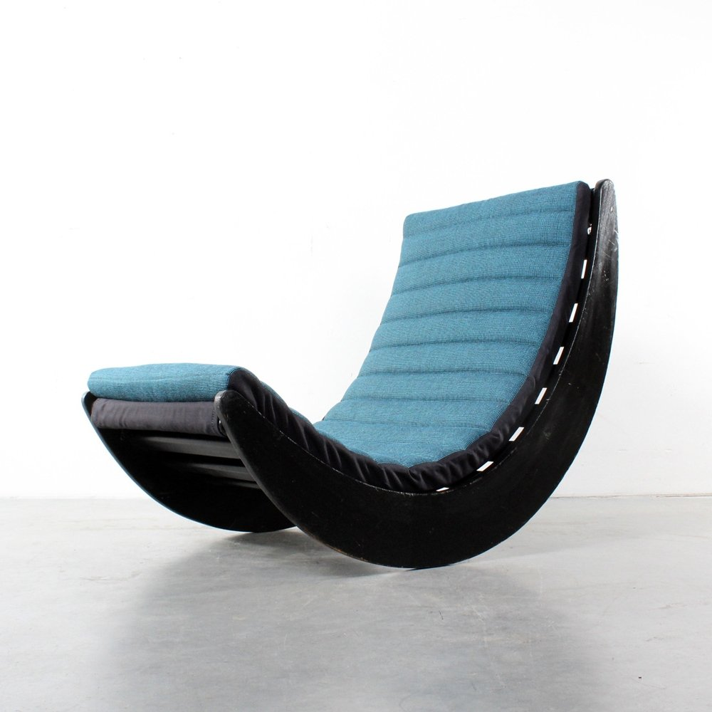 relaxer rocking chair by verner panton for rosenthal 1970s 67261