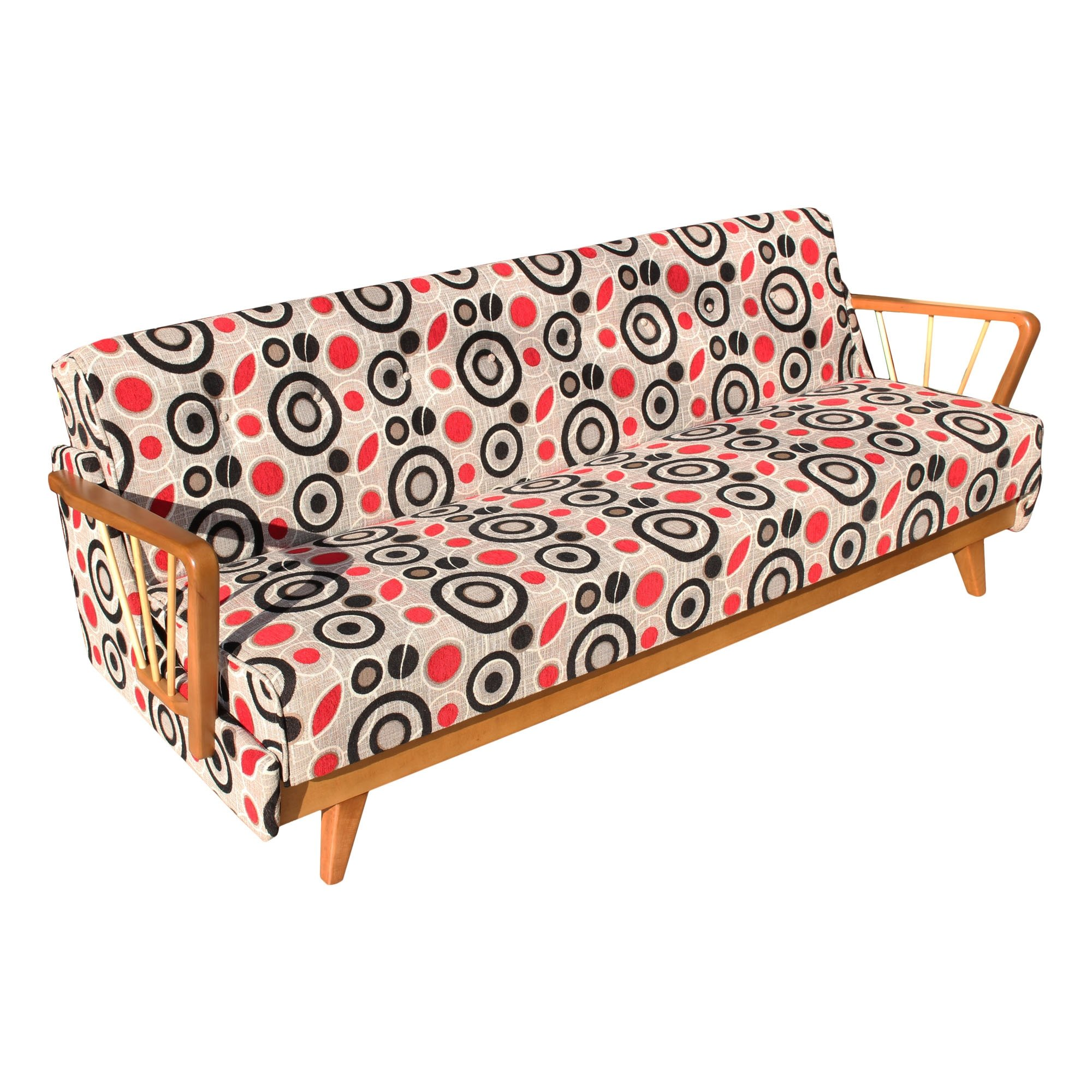 Beautiful space age sofa bed made in germany 67624 for Sofa bed germany