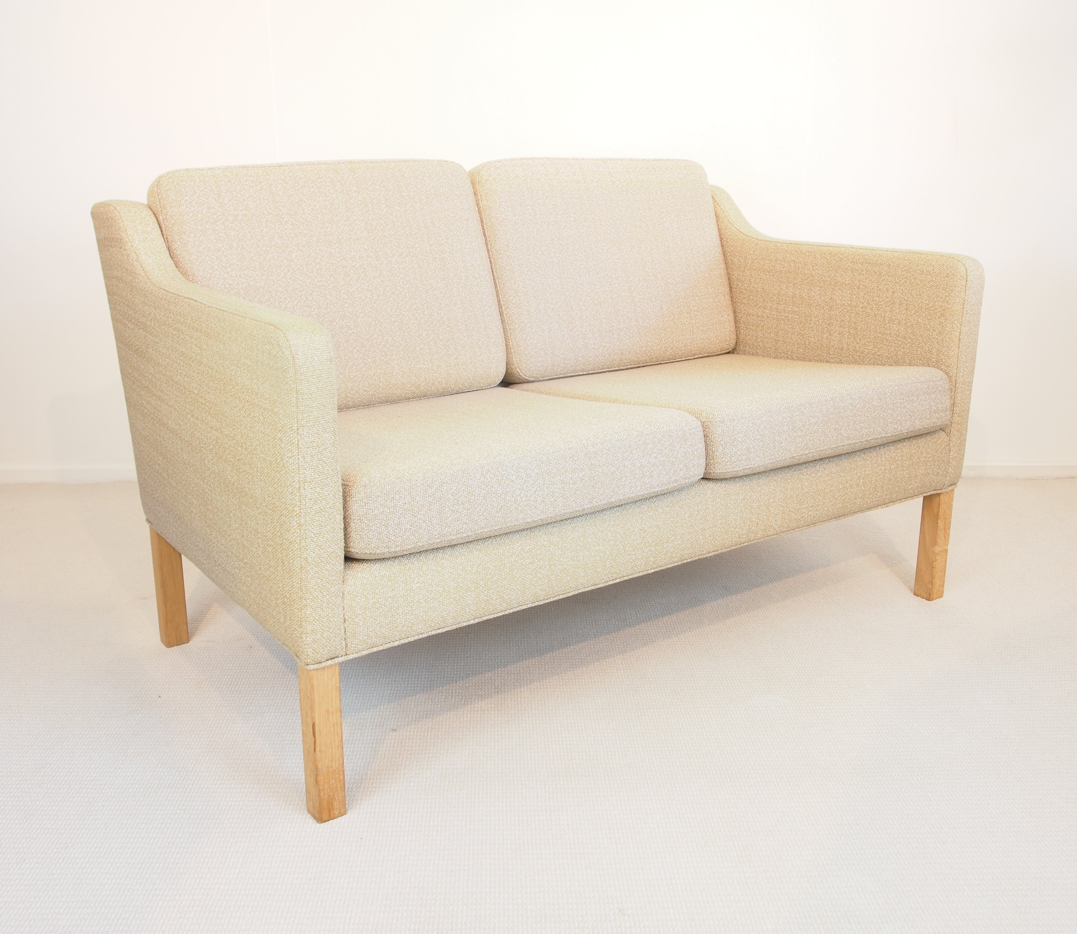 2 X Model 2322 Sofa By Børge Mogensen For Fredericia, 1970s