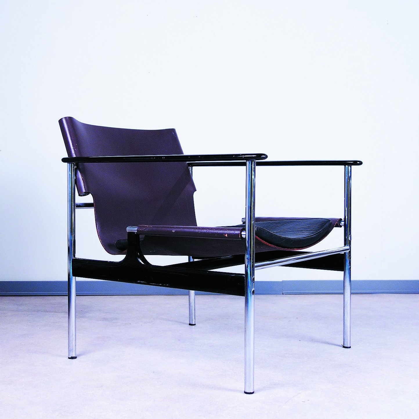 Sling Lounge Chair By Charles Pollock For Knoll 1960s 67732