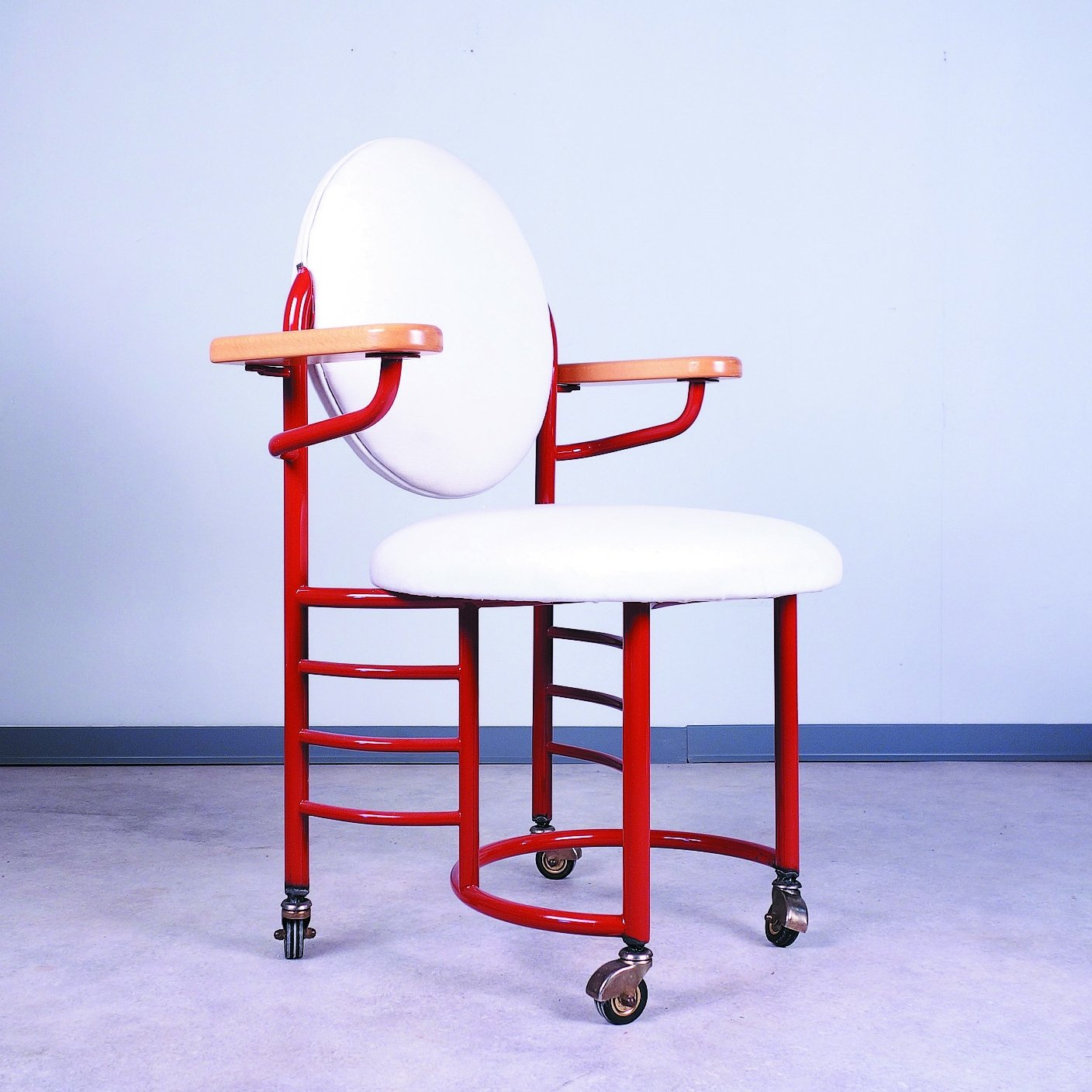 Johnson Wax Office Chair By Frank Lloyd Wright For Cassina