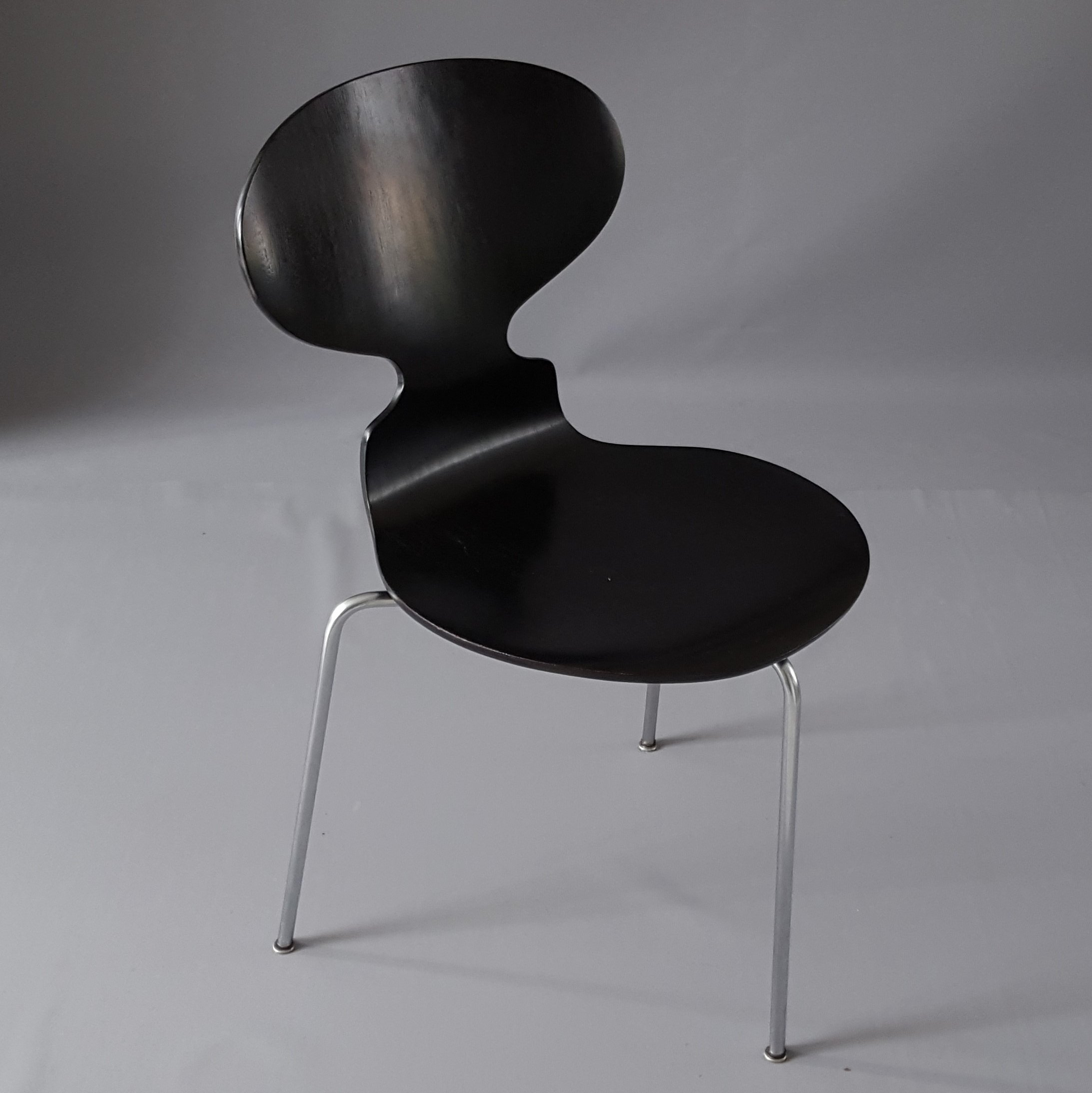 ant chair 3101 by arne jacobsen for fritz hansen 1960s. Black Bedroom Furniture Sets. Home Design Ideas