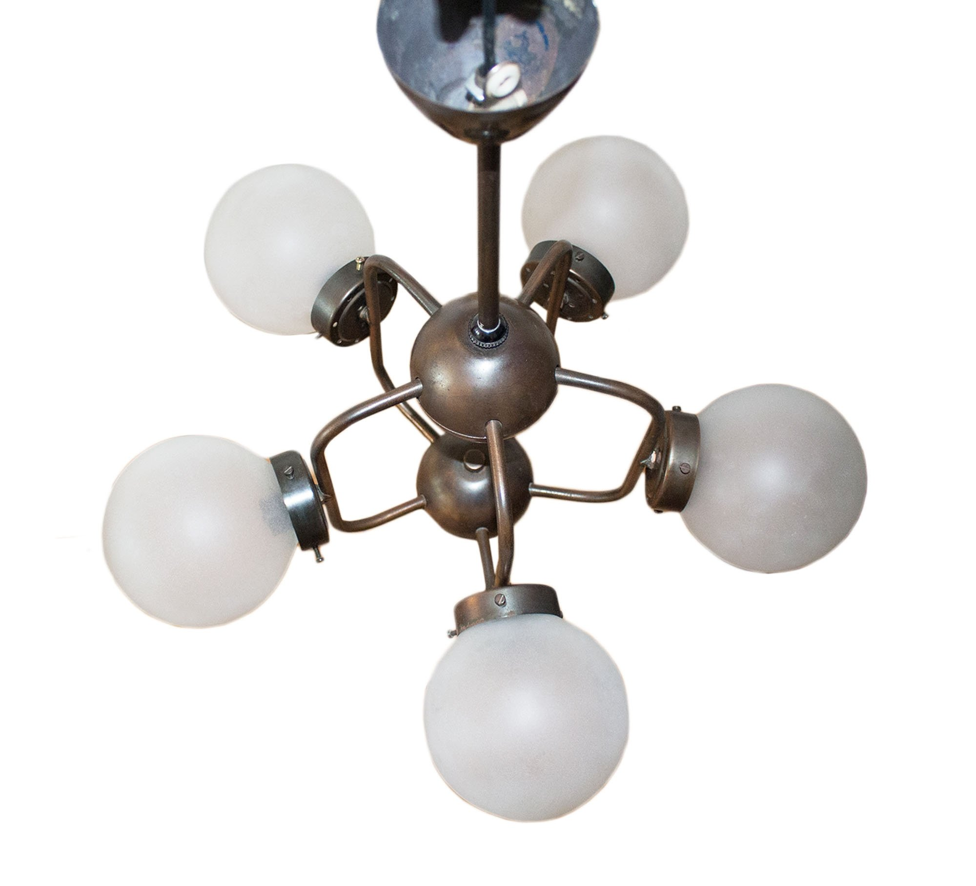 Space age atomic age ceiling lamp with 5 lights 1970s 68412 space age atomic age ceiling lamp with 5 lights 1970s arubaitofo Choice Image