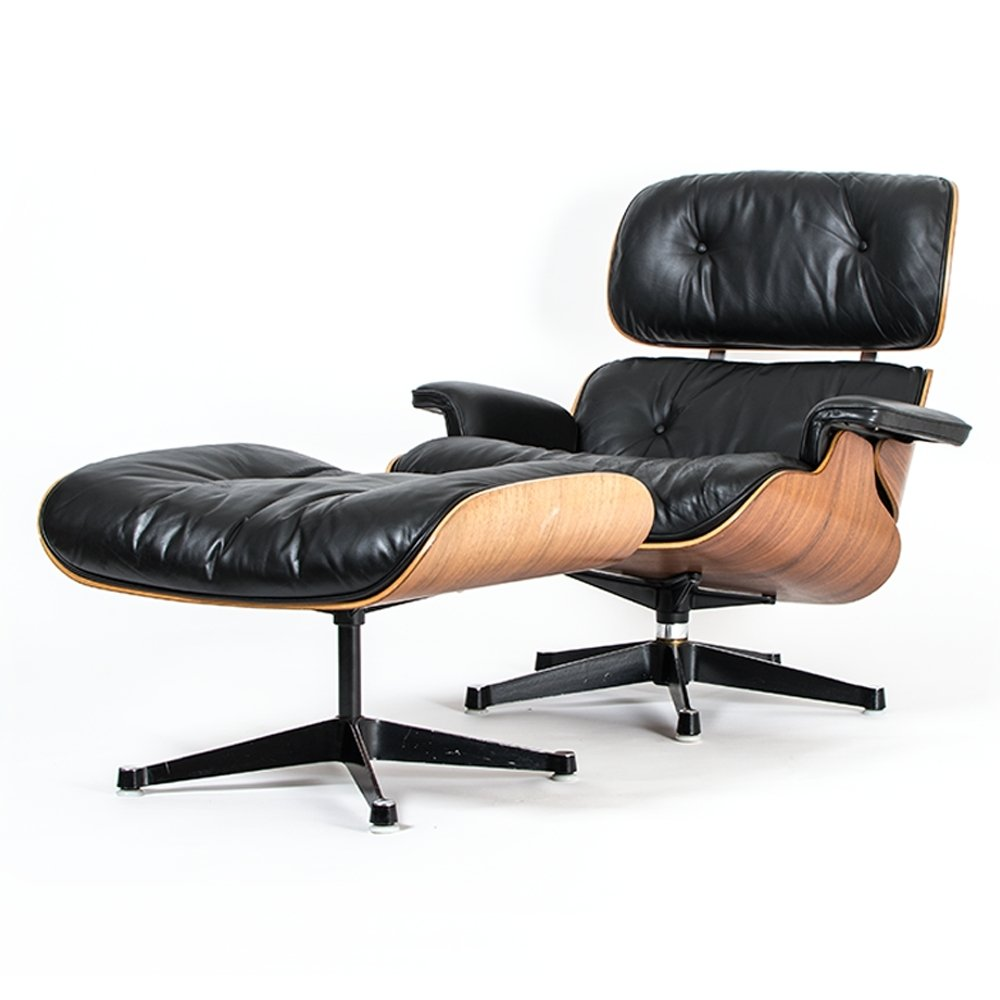 Eames Lounge Chair U0026 Ottoman 670/671 By Charles U0026 Ray Eames For Herman  Miller, 1968