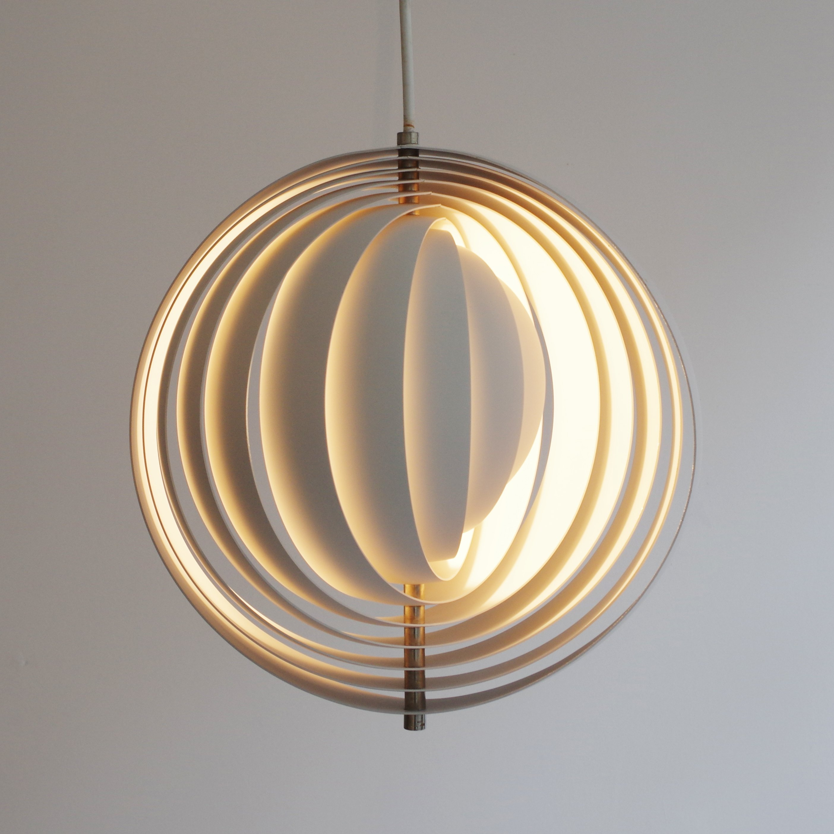 Moon Hanging Lamp By Verner Panton For Louis Poulsen, 1960s