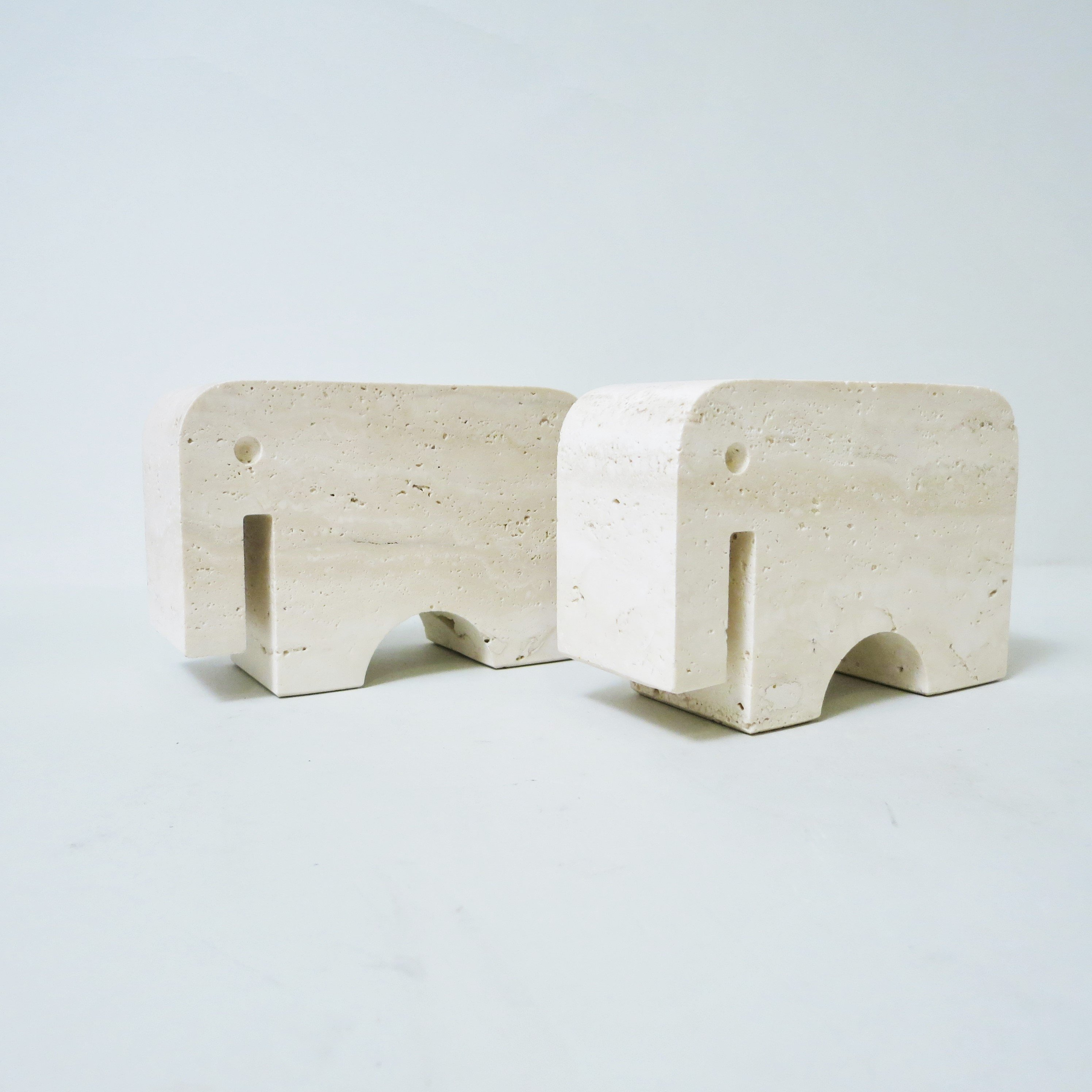 Elephant Bookends by Fratelli Mannelli for Fratelli Manelli, 1960s
