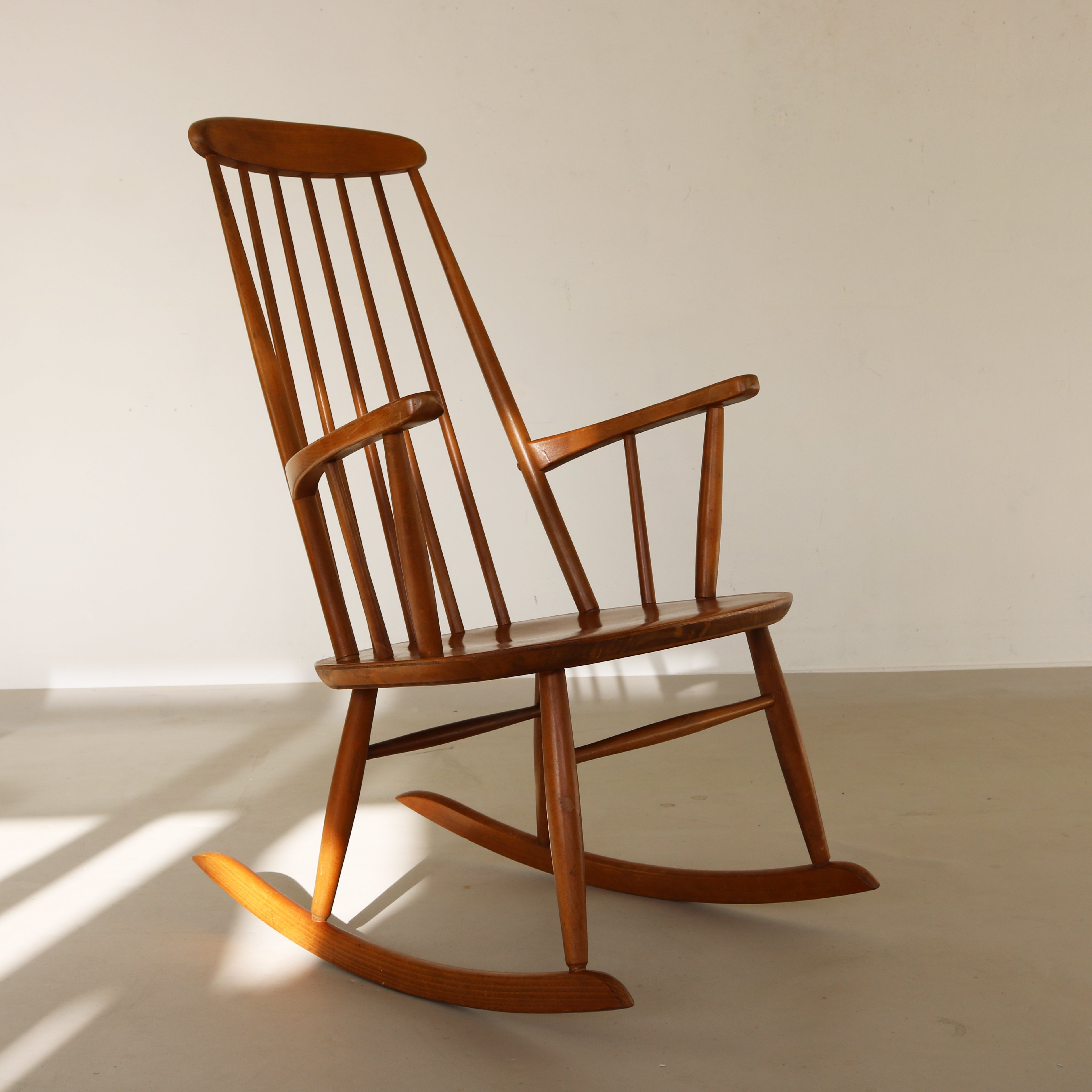 Scandinavian rocking chair, 1960s
