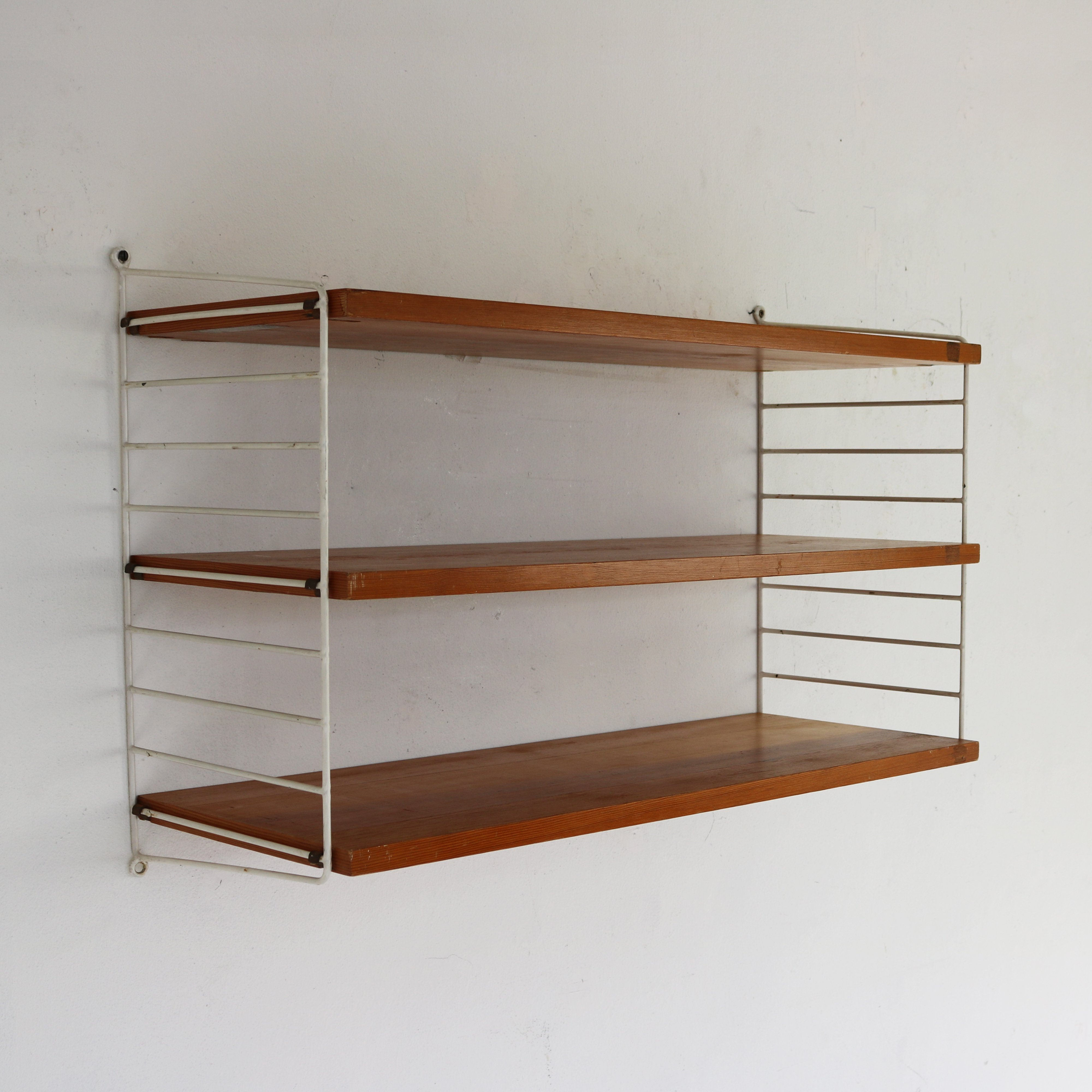 Nisse Strinning wall unit by nisse strinning for string design ab 1960s 69783