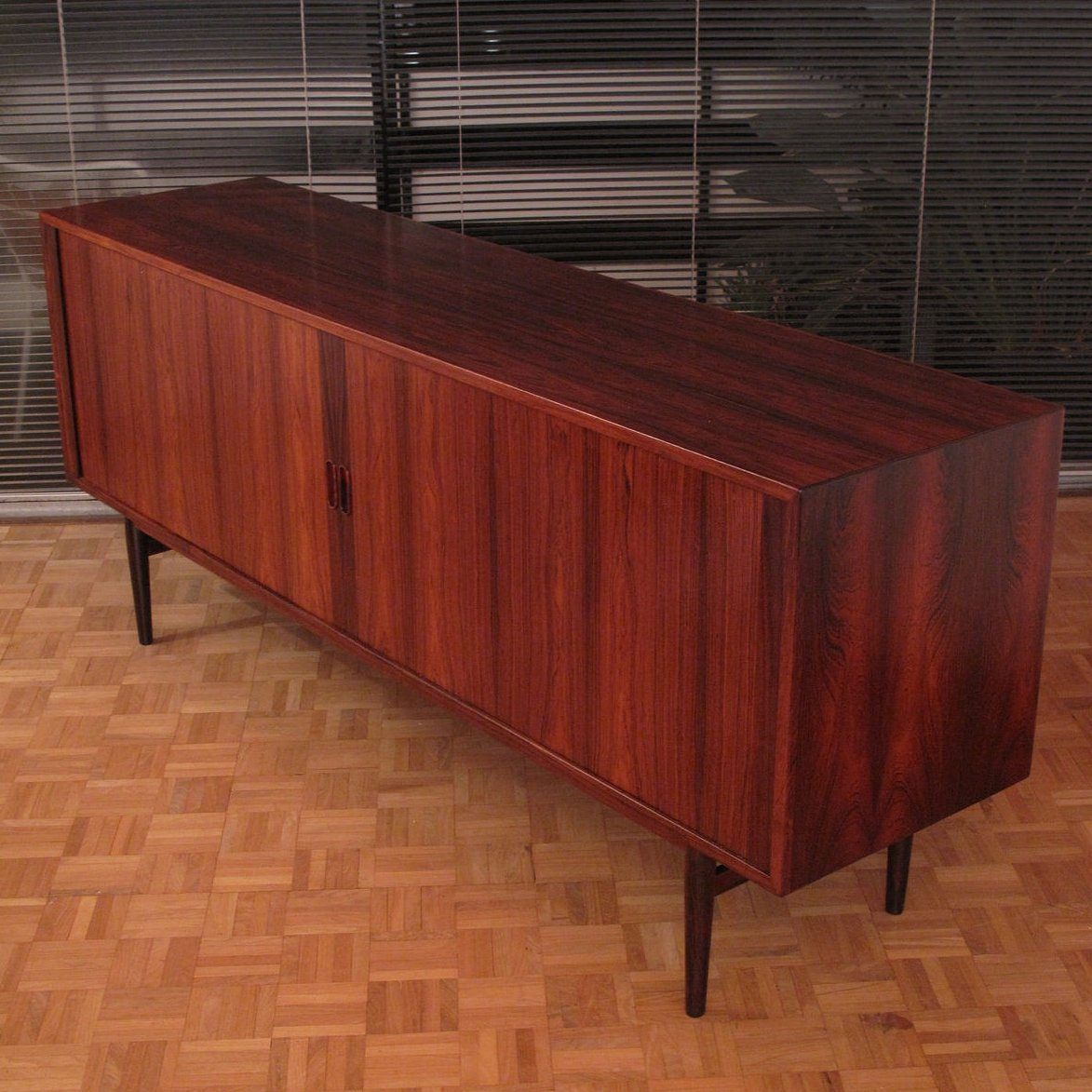 Arne Vodder Model 37 Brazilian Rosewood Sideboard