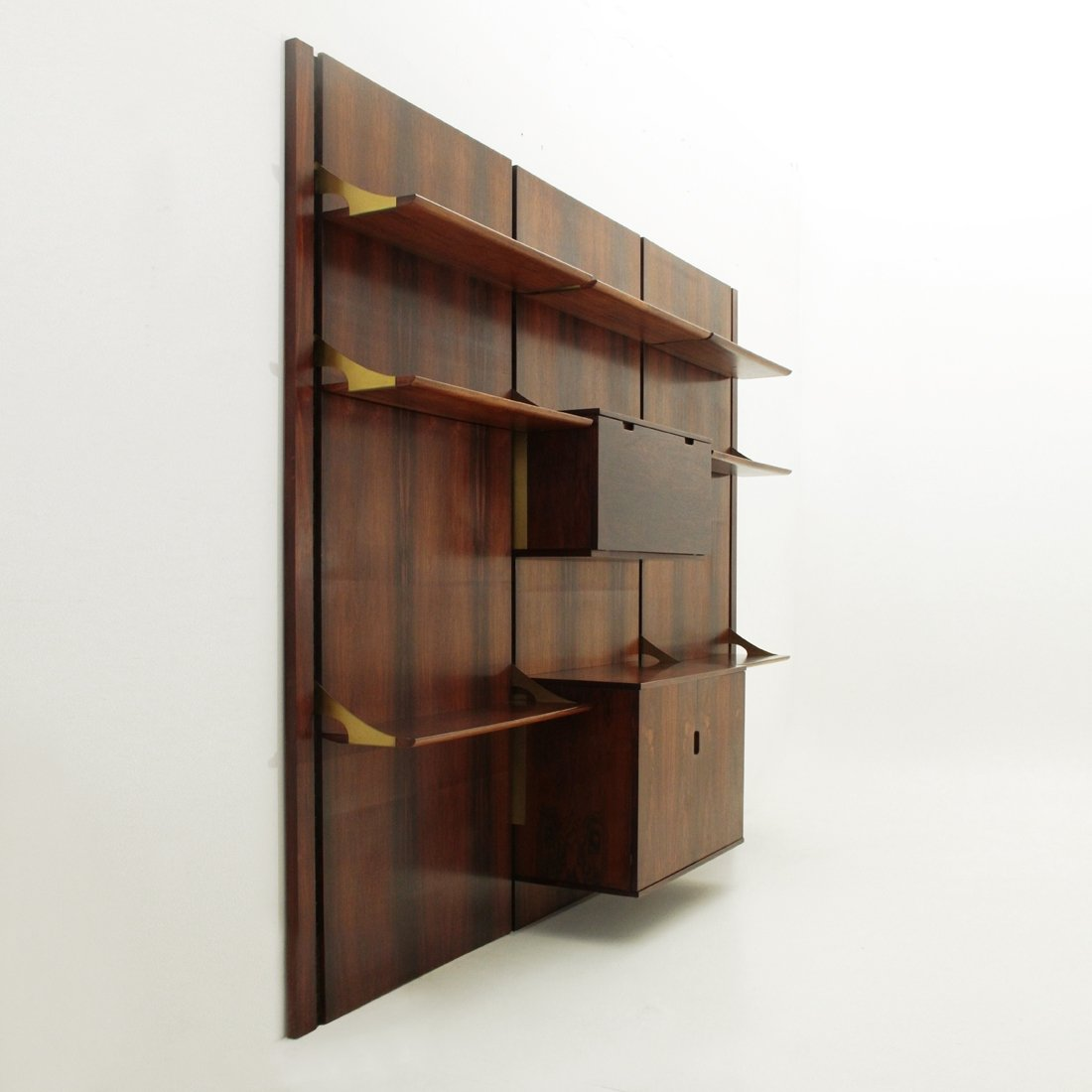 Mobilia wall unit 1960s 70277 for Mobilia italia