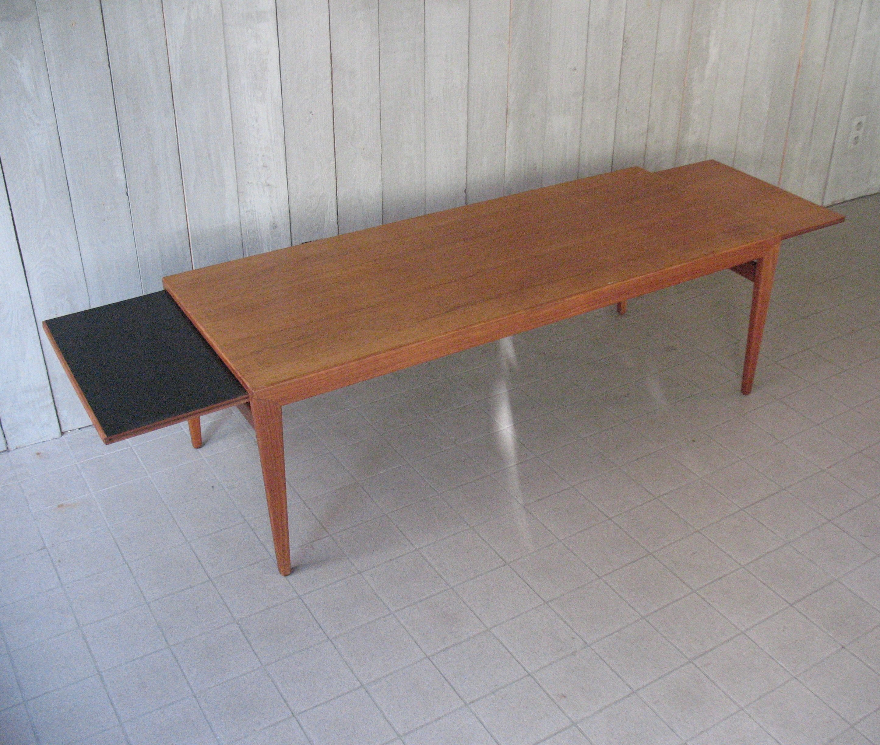 Ringgold Extendable Coffee Table With Storage: Johannes Andersen Extendable Coffee Table For Uldum