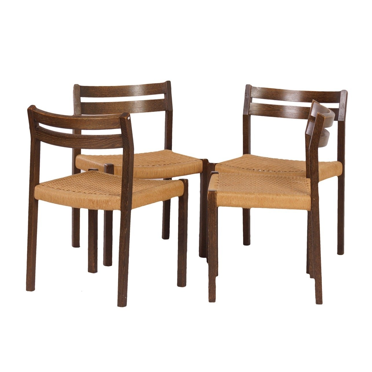 Danish Dining Chairs By Jorgen Henrik Møller For J L 1974