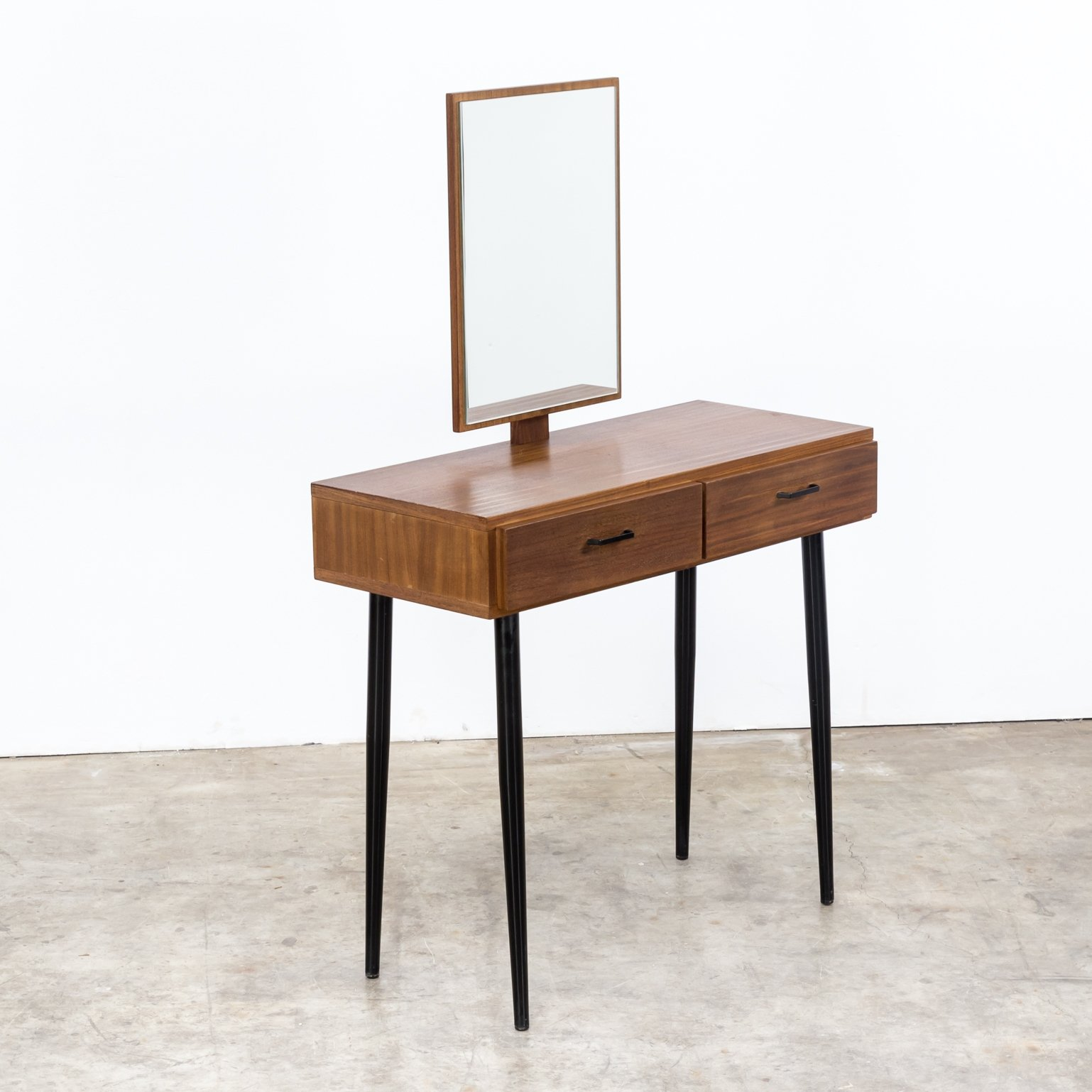 Vintage Dressing Table With Mirror, 1960s