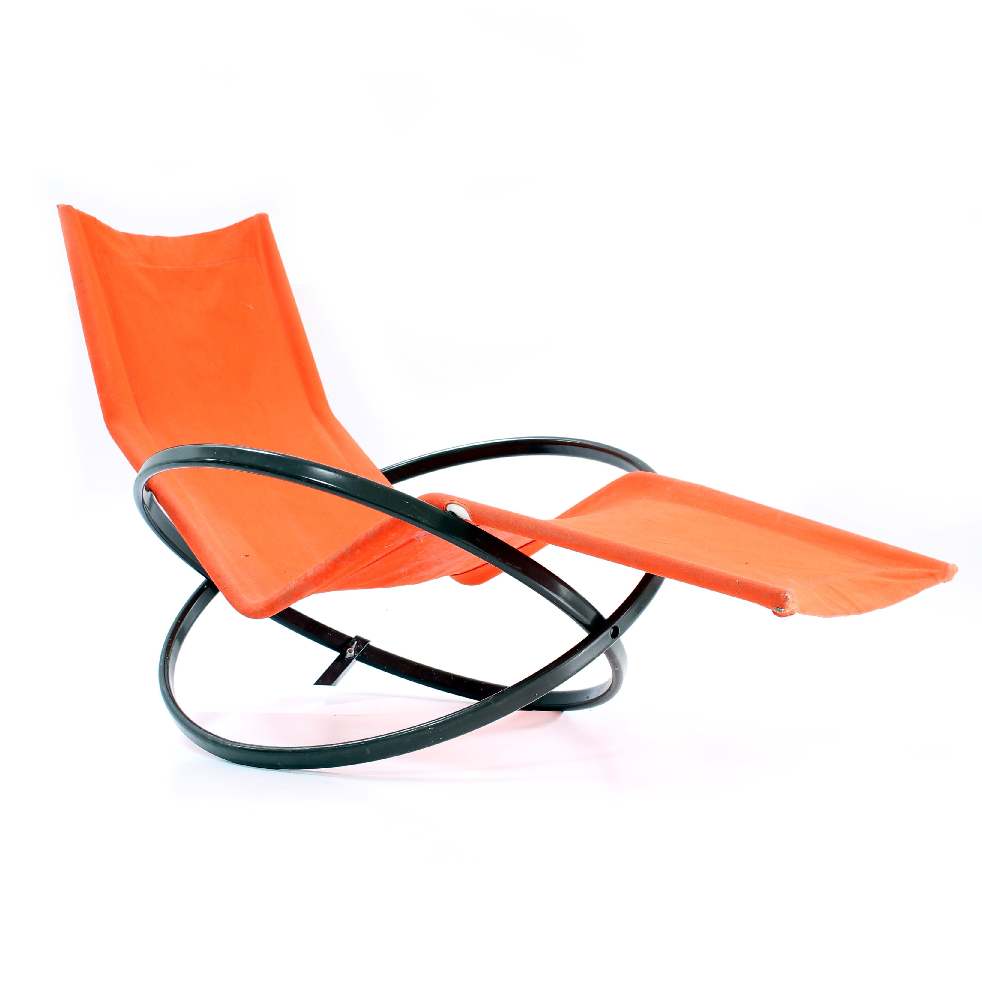 Jet Star rocking chair by Roger Lecal 1970s