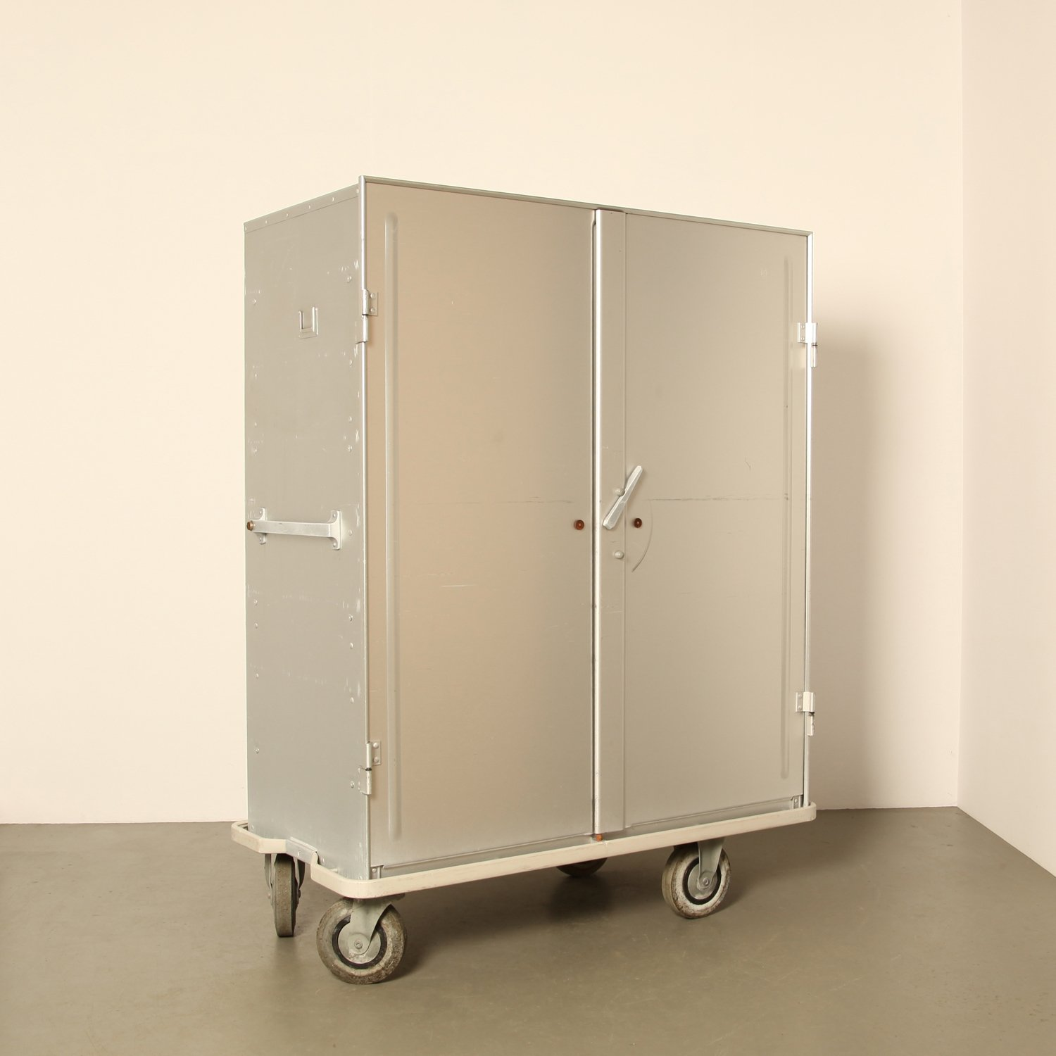 zarges aluminum storage & transport cabinet on wheels | #71569