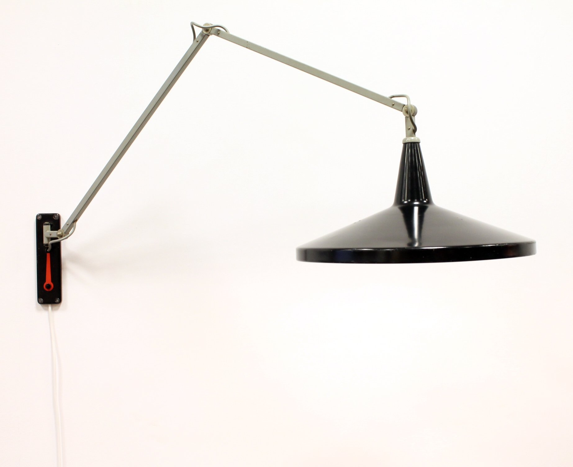 Rietveld Lampen Nl : Panama wall lamp by wim rietveld for gispen 1950s #71605