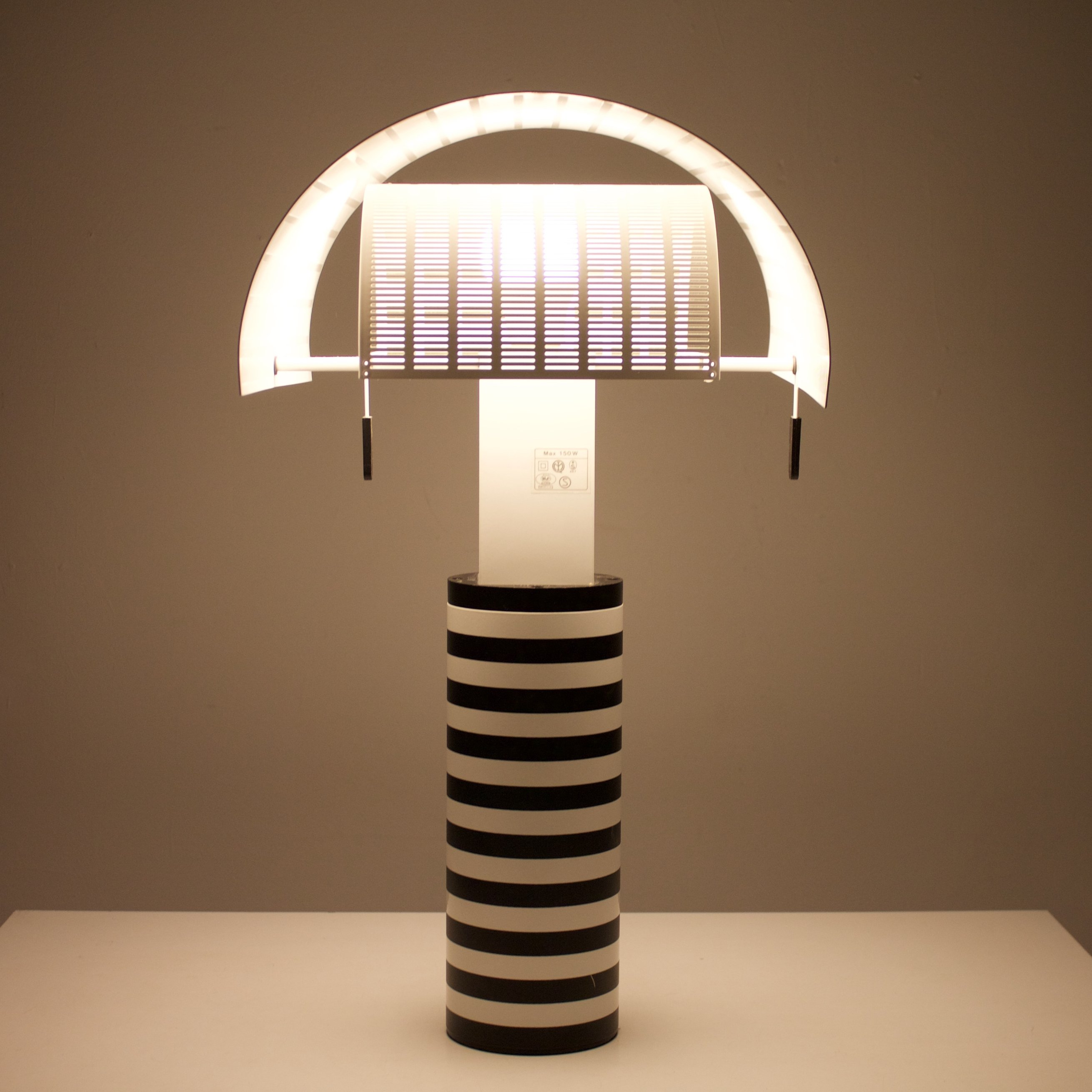 Shogun Desk Lamp By Mario Botta For Artemide, 1980s