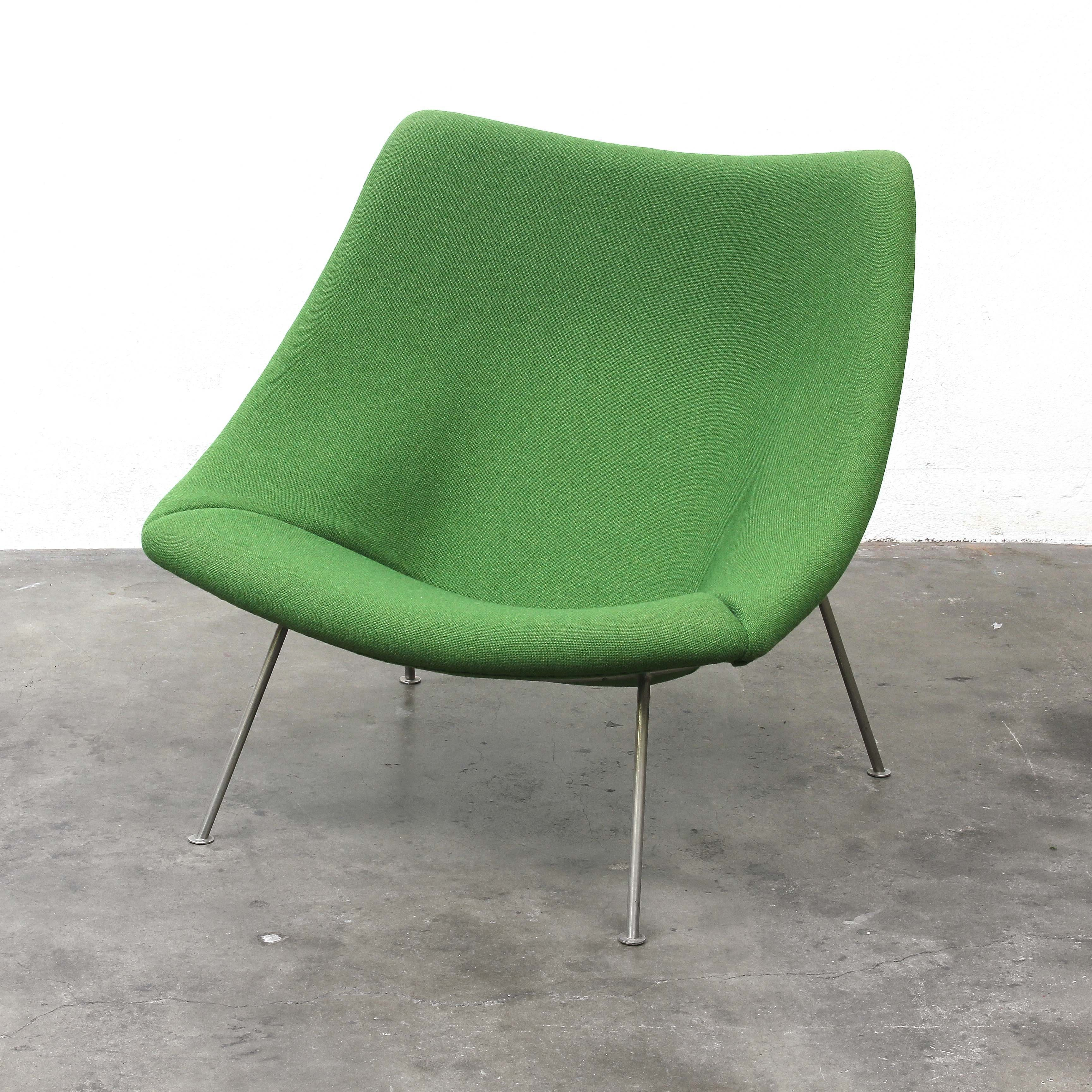 Beau F157 Oyster Lounge Chair By Pierre Paulin For Artifort, 1950s