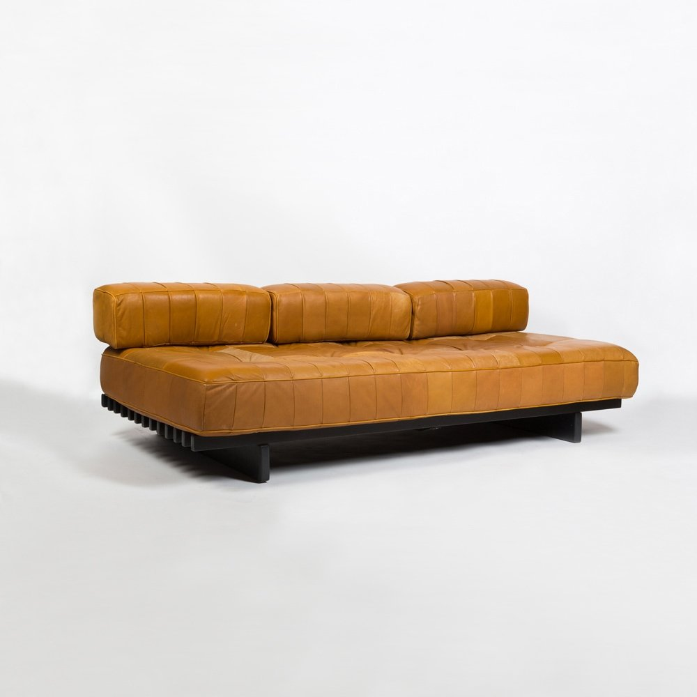 leather 39 ds80 39 sofa daybed by de sede 1960s 72221. Black Bedroom Furniture Sets. Home Design Ideas