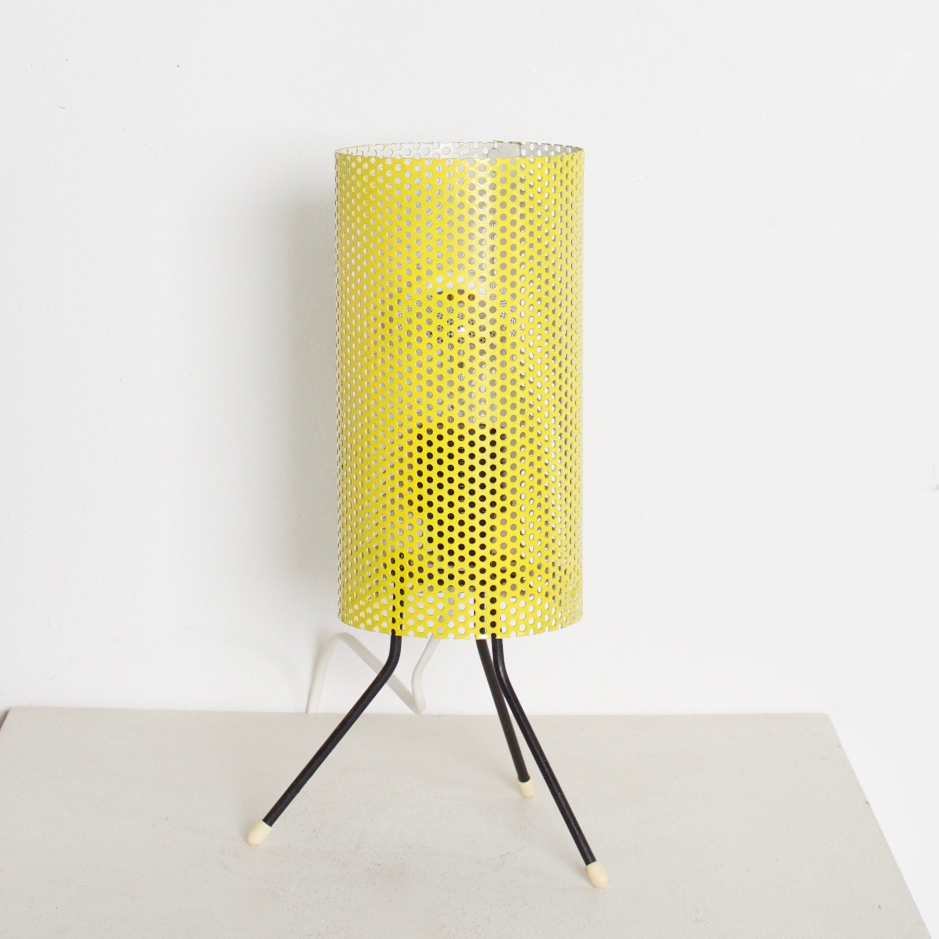 Metal Table Lamp By Tjerk Reijenga For Pilastro 1950s