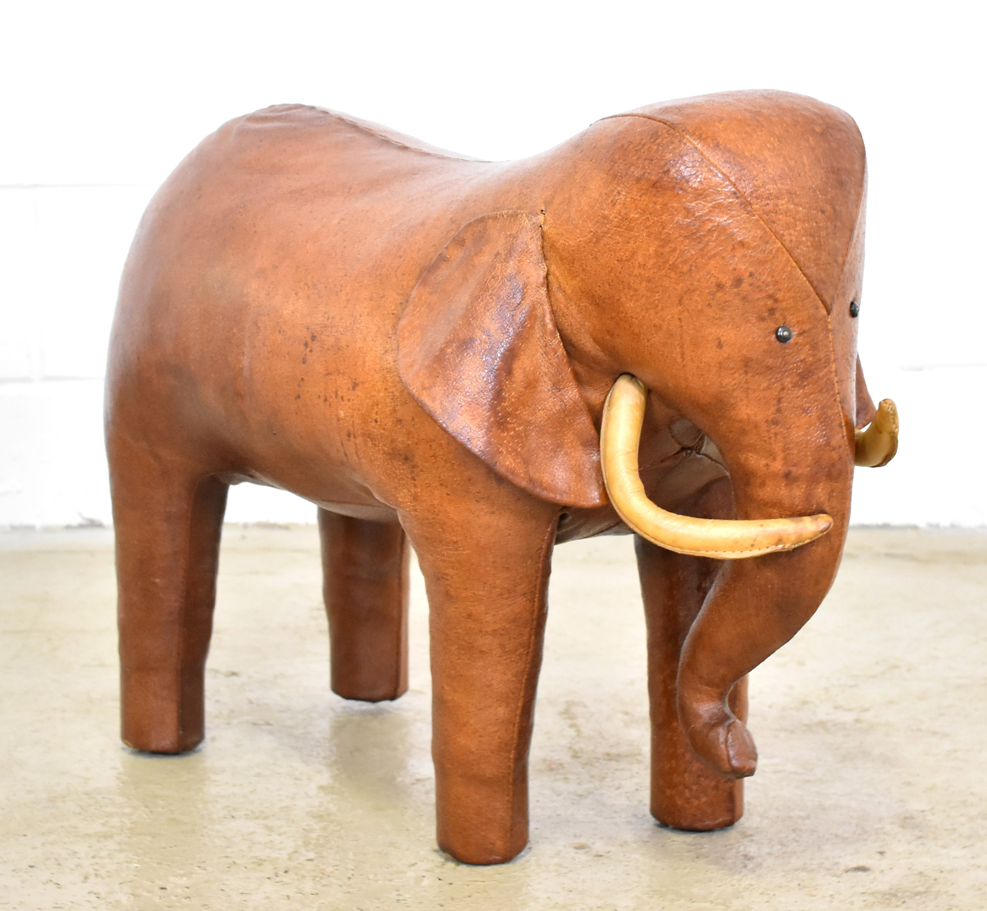 Elephant Footstool By Dimitri Omersa For Abercrombie