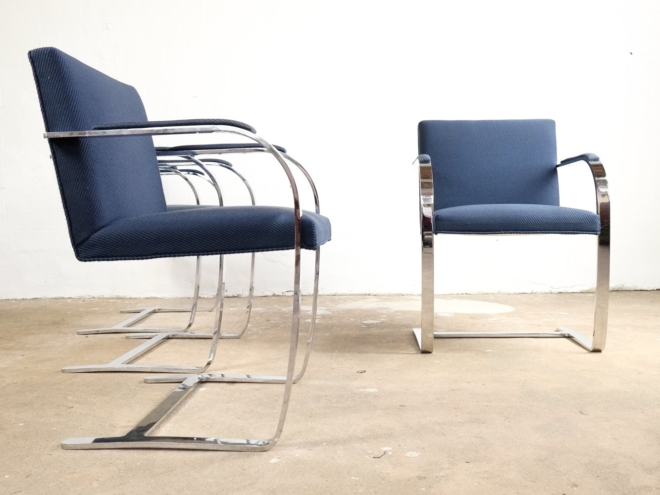 Set Of 6 Brno Chairs By Ludwig Mies Van Der Rohe For Knoll