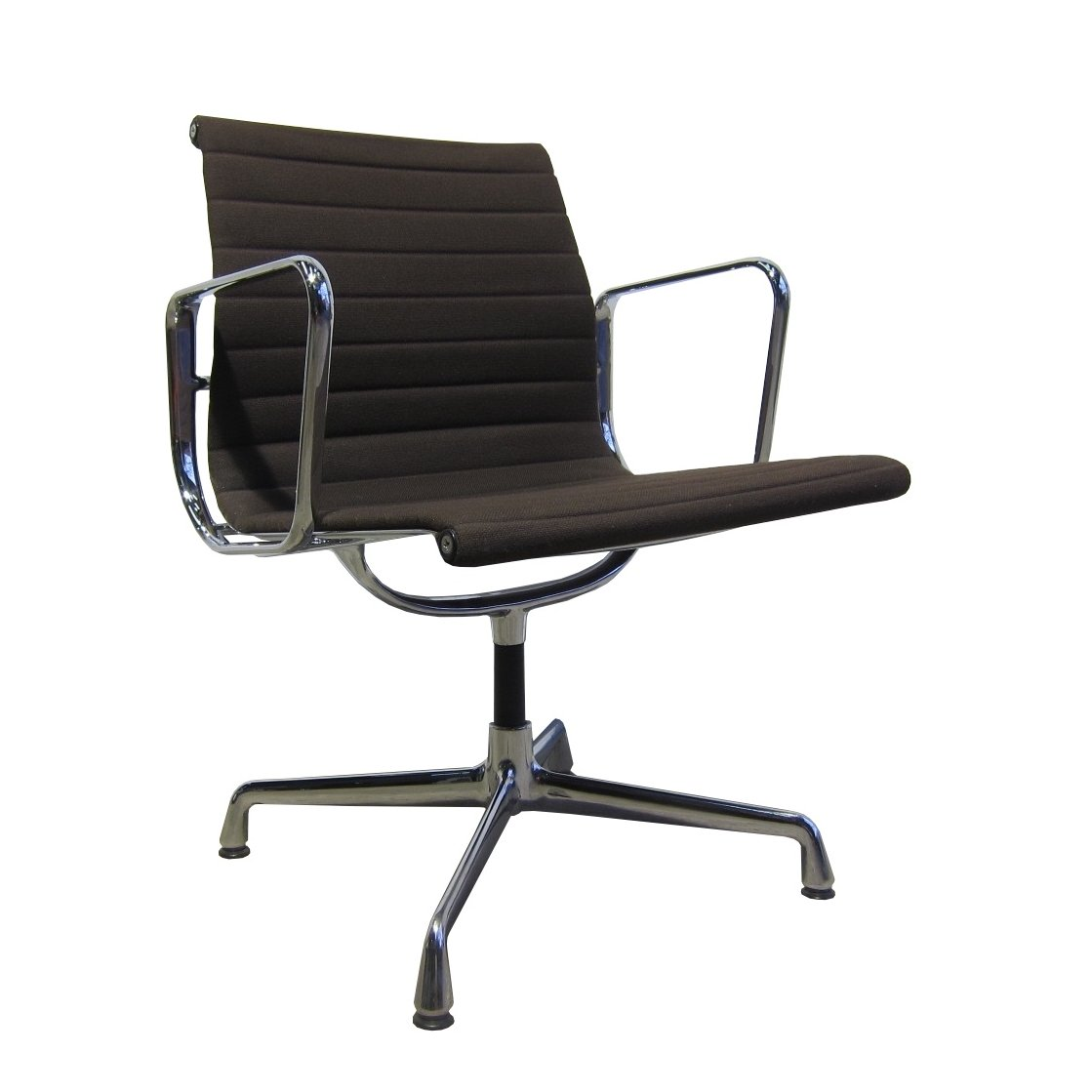 Ea107 alu chair by charles ray eames for vitra 1990s for Eames alu chair nachbau