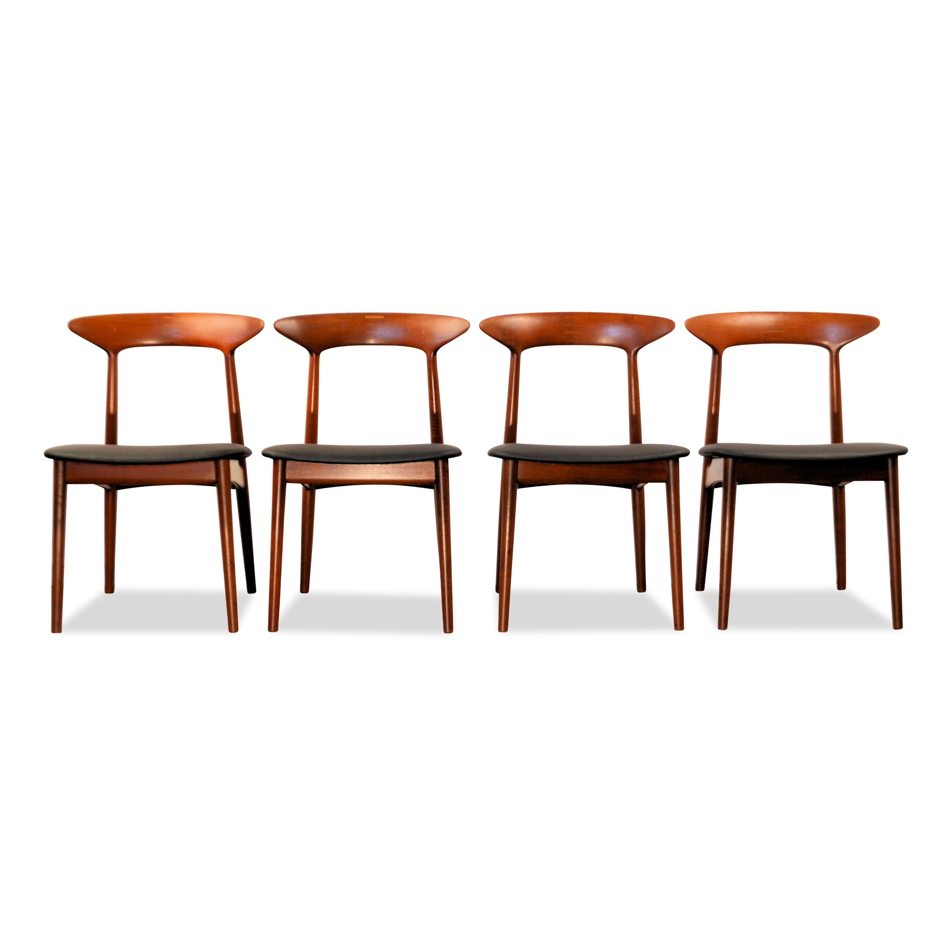 Vintage Danish Design Kurt Østervig Teak Dining Chairs