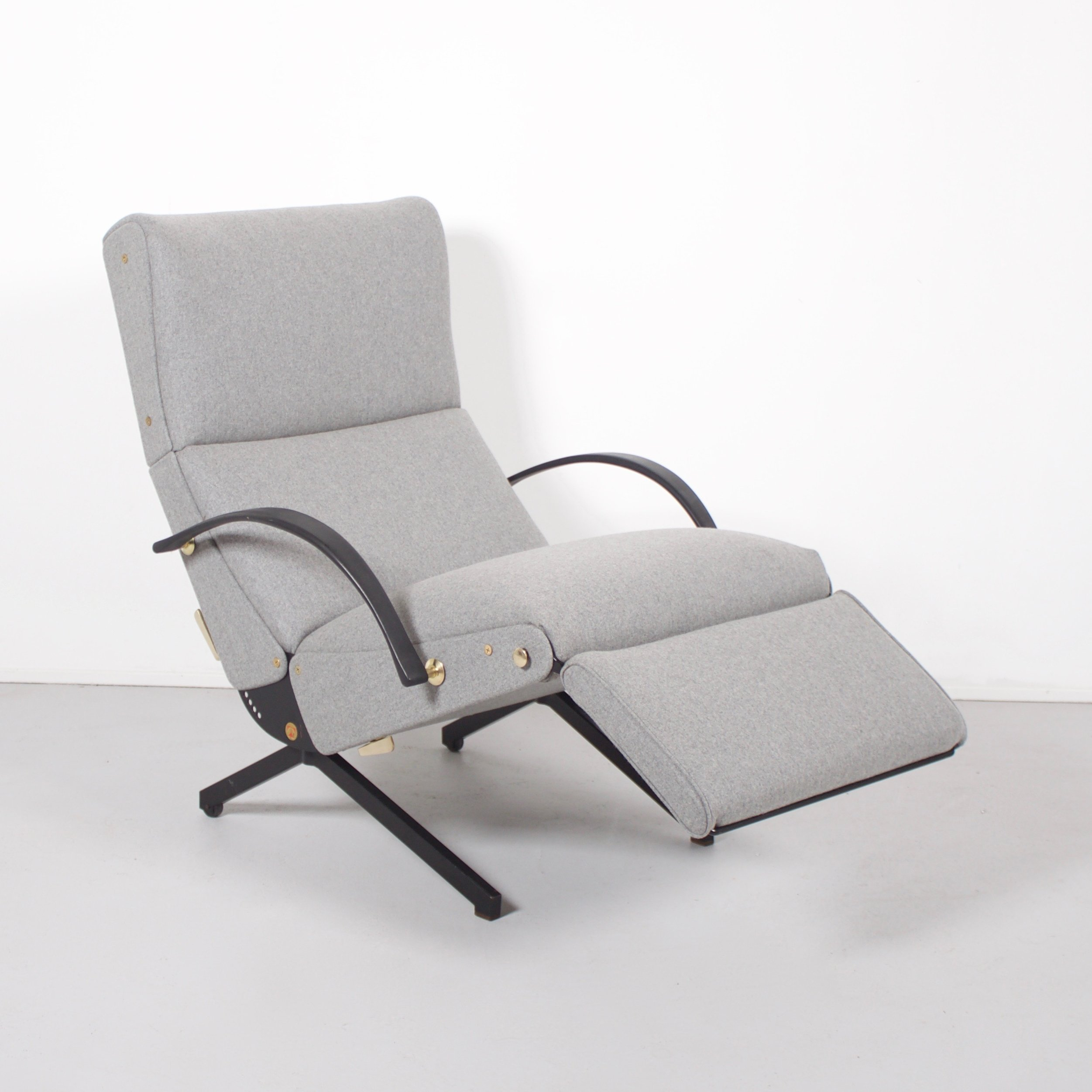 2 X P40 Lounge Chair By Osvaldo Borsani For Tecno 1960s
